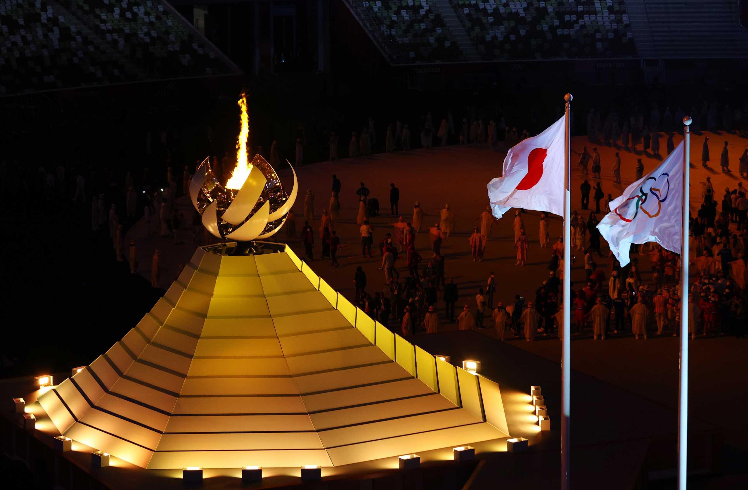 Ολυμπιακοί Αγώνες: Όλα όσα έγιναν στην εντυπωσιακή τελετή έναρξης στο Τόκιο