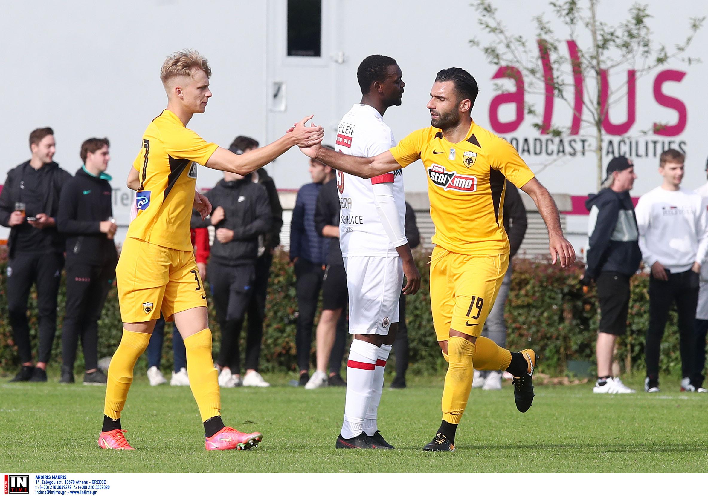ΑΕΚ – Αντβέρπ 2-0: Βελτιωμένη και νικήτρια στο ντεμπούτο του Τζαβέλλα