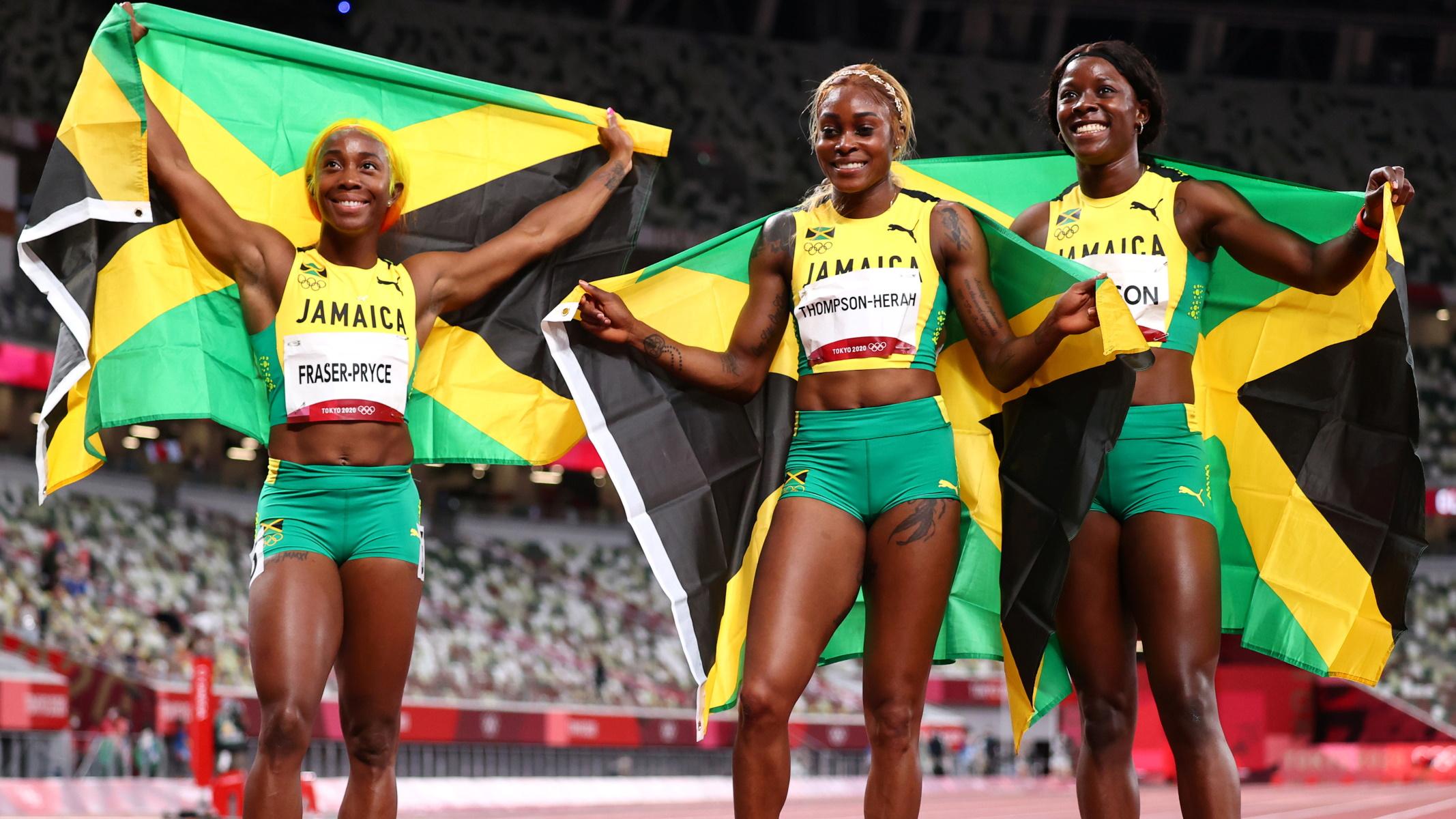 Ολυμπιακοί Αγώνες: «Χρυσή» και στο Τόκιο η Τόμπσον με ρεκόρ – Κυριαρχία για Τζαμάϊκα στα 100μ. γυναικών