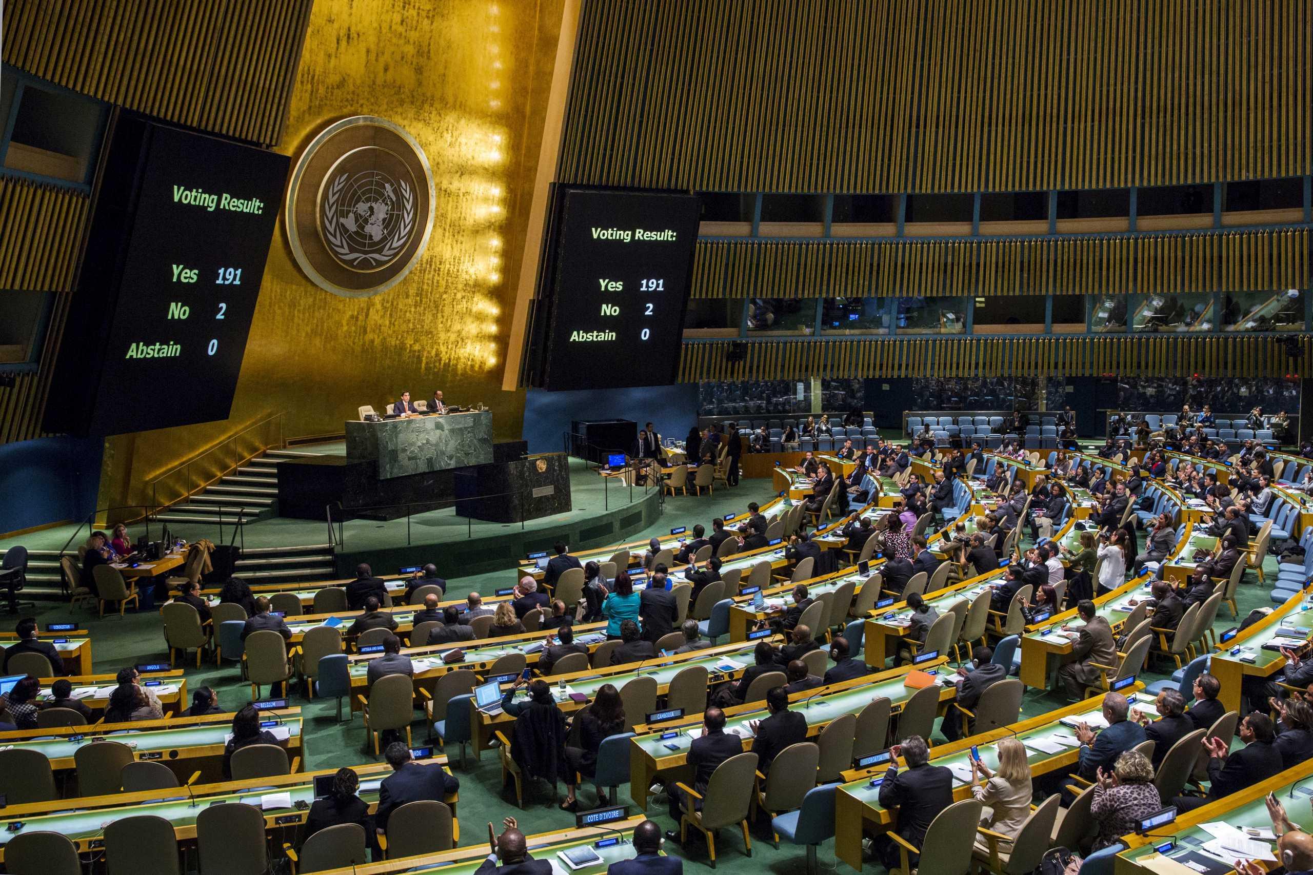 Στριμωγμένη η Τουρκία στον ΟΗΕ – Κατακραυγή για τις κινήσεις στα Βαρώσια