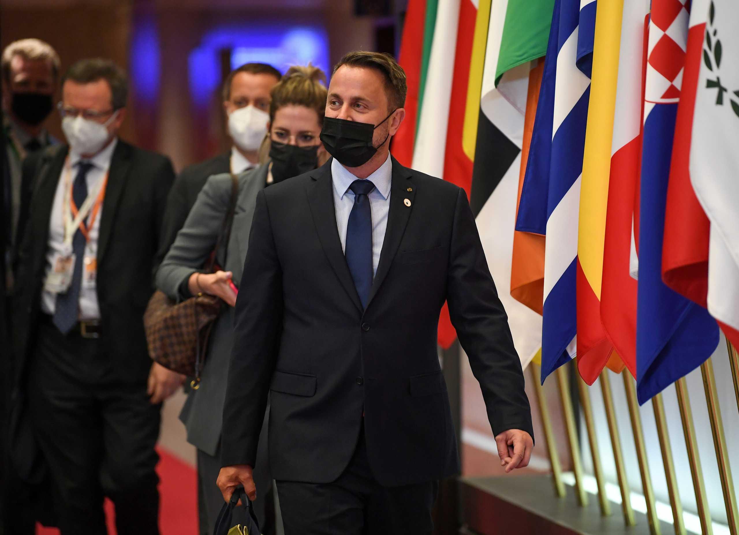 Λουξεμβούργο: Στο νοσοκομείο για εξετάσεις ο πρωθυπουργός Ξαβιέ Μπετέλ – Είχε διαγνωστεί θετικός στον κορονοϊό