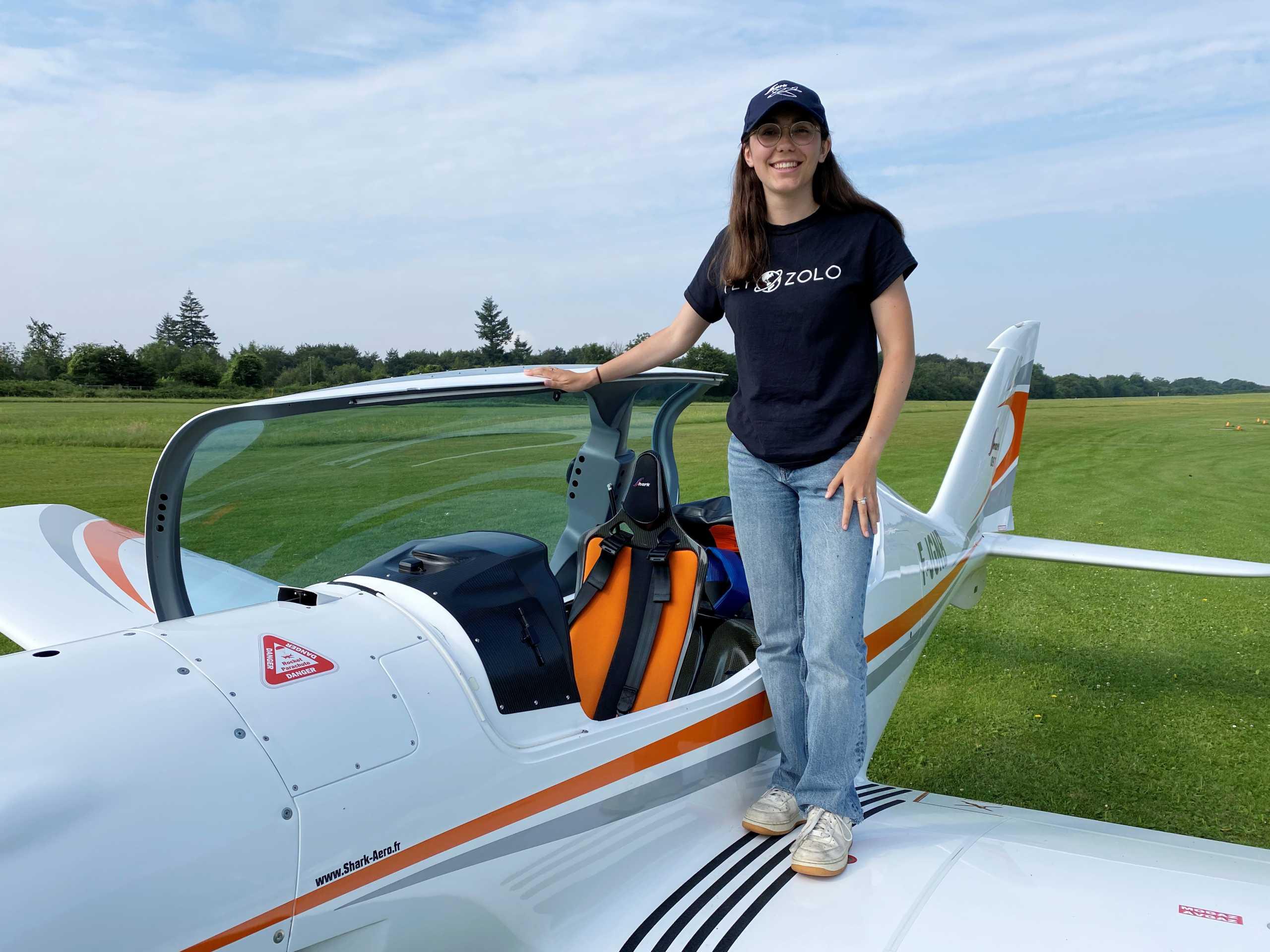 Αυτή είναι η 19χρονη που θέλει να γίνει η νεότερη γυναίκα στον κόσμο που θα έχει πετάξει μόνη με αεροσκάφος