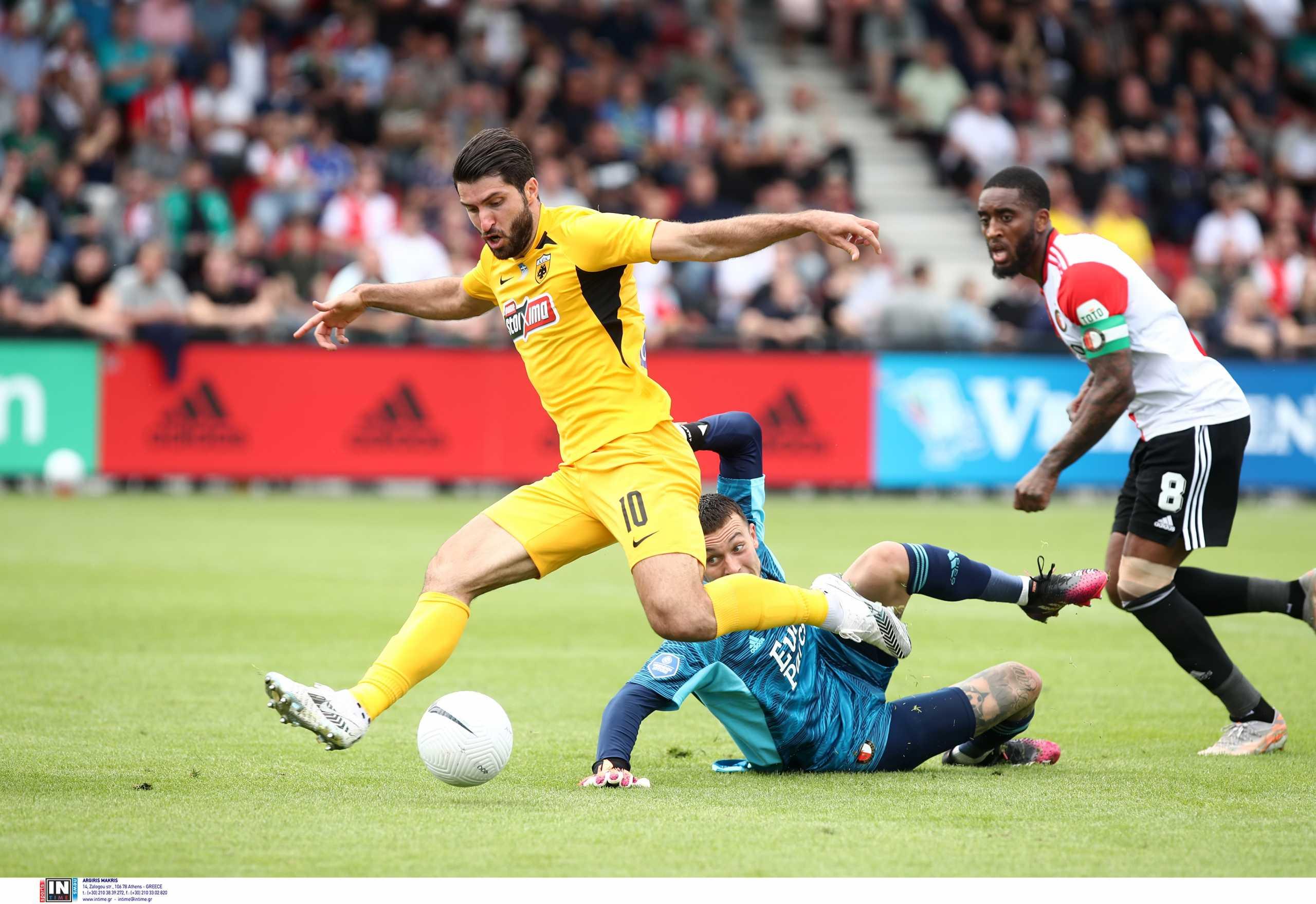 Φέγενορντ – ΑΕΚ 3-1: Προβλημάτισε στην άμυνα η Ένωση