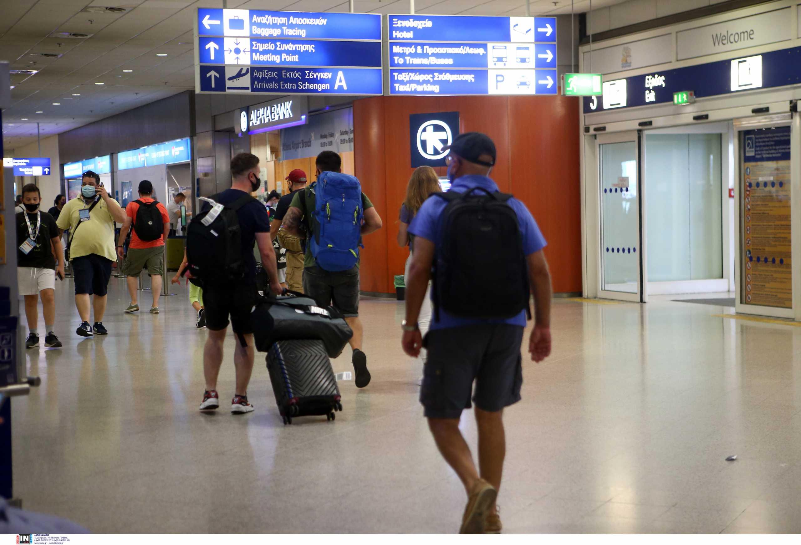 Μείωση των τουριστών από το εξωτερικό κατά 65% το πρώτο πεντάμηνο του 2021