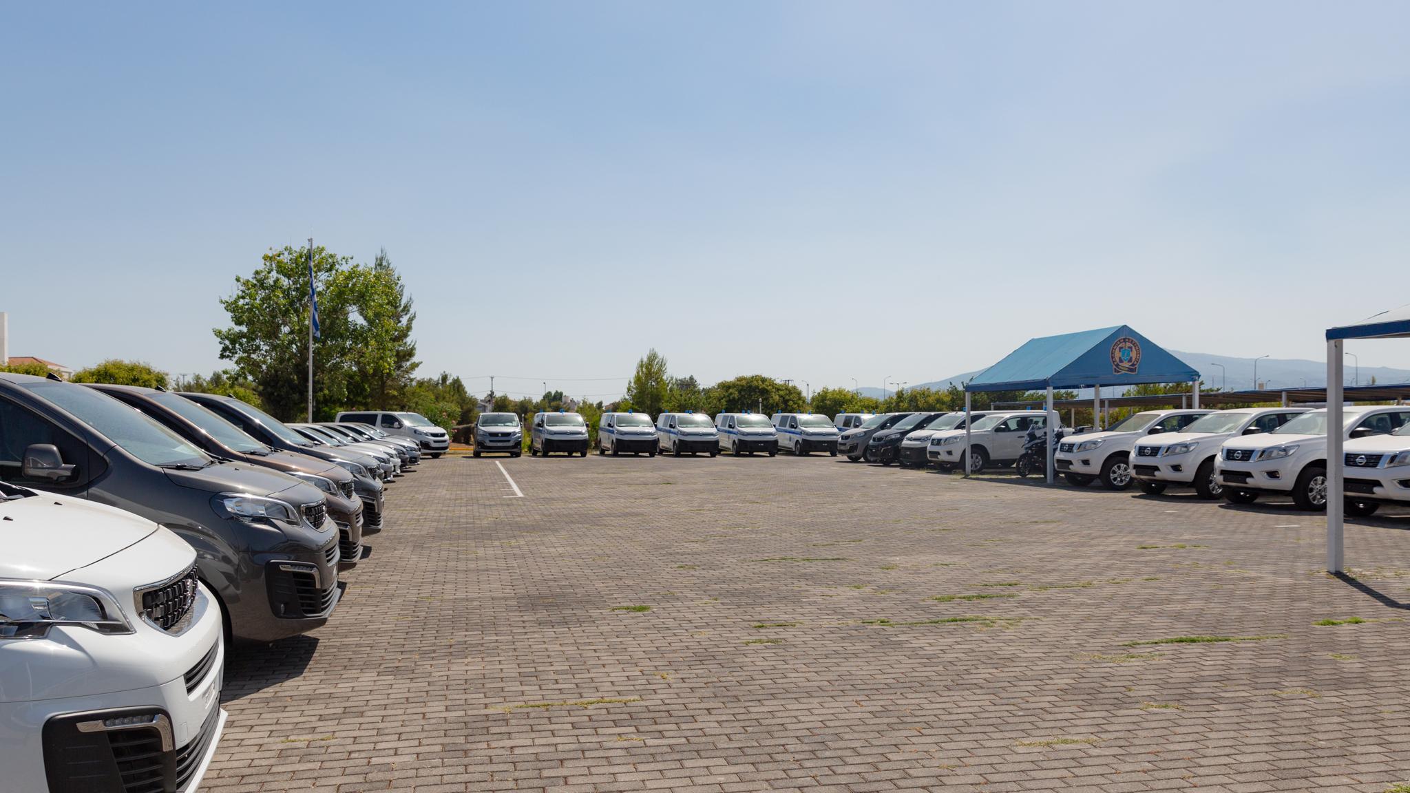 Η ΕΛΑΣ ενισχύθηκε με 28 νέα οχήματα