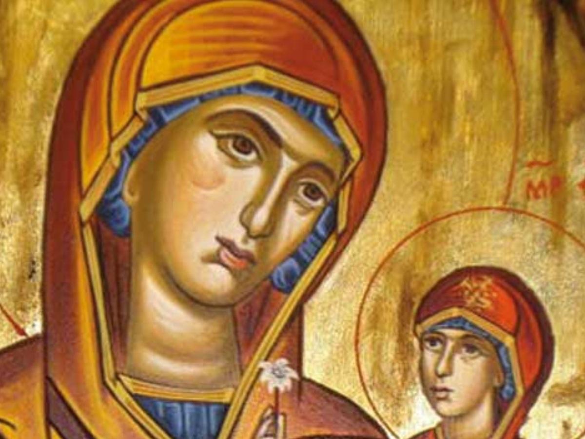 Στις 25 Ιουλίου τιμάται η Κοίμηση της Αγίας Άννας της μητέρας της Παναγίας