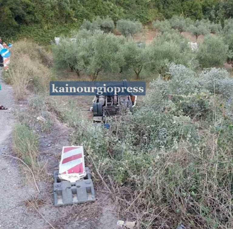 Θανατηφόρο τροχαίο στο Αγρίνιο – Ανετράπη φορτηγό