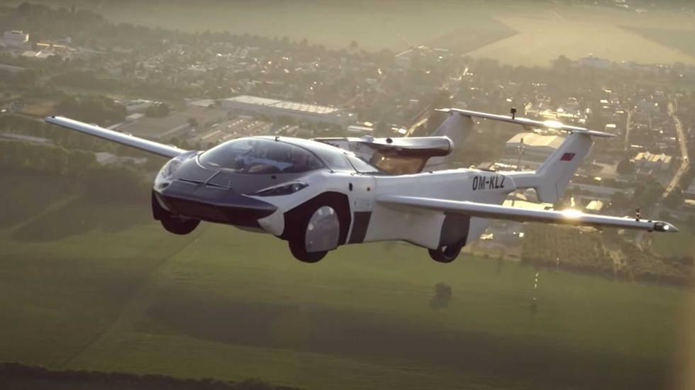 Ιπτάμενο αυτοκίνητο με κινητήρα BMW πέταξε ανάμεσα σε δύο πόλεις (video)