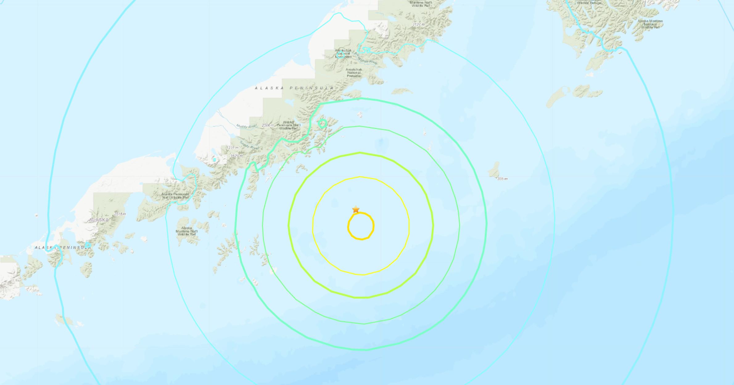 Τρομακτικός σεισμός 8,2 Ρίχτερ στην Αλάσκα – Προειδοποίηση για τσουνάμι