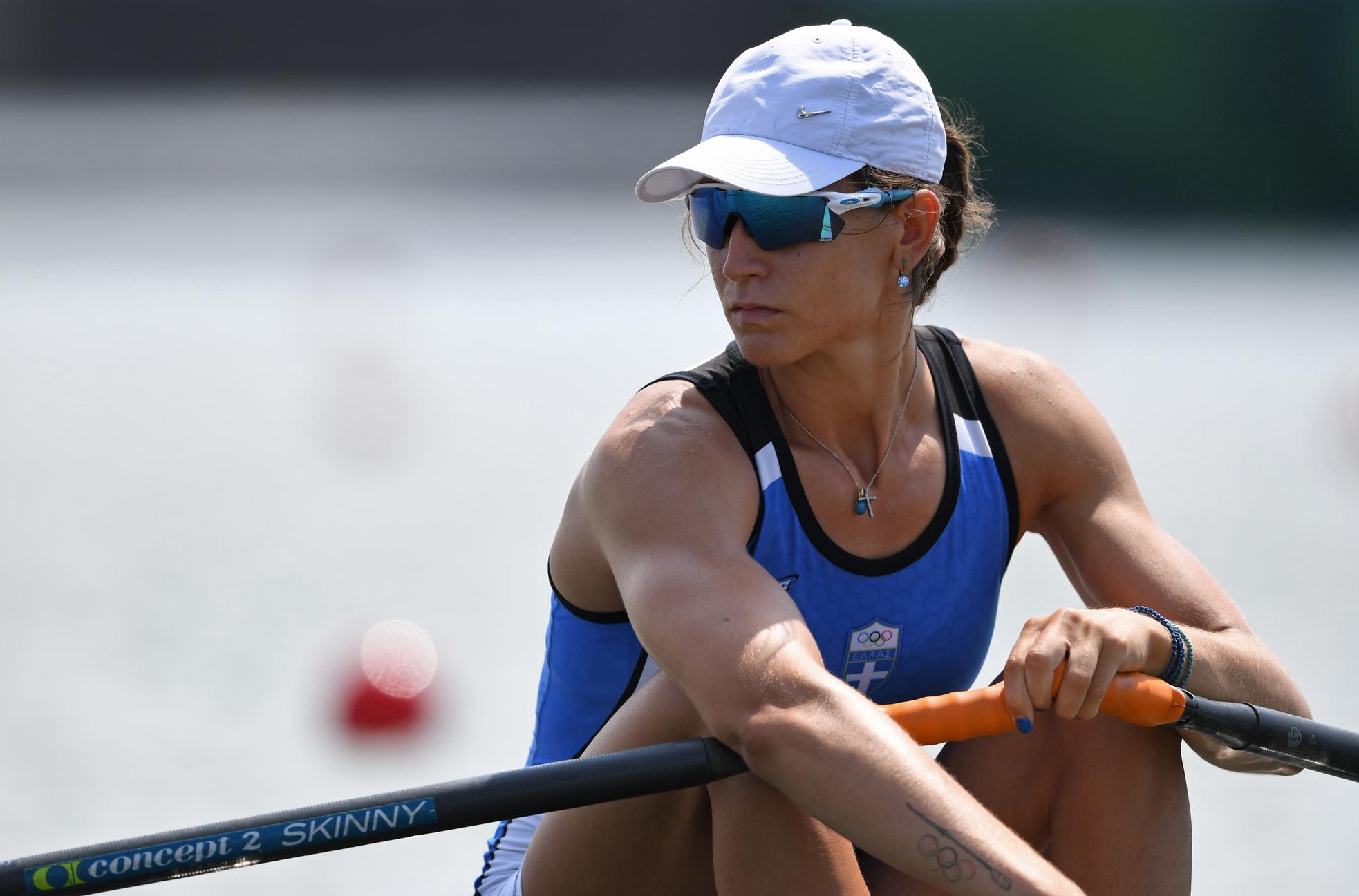 Ολυμπιακοί Αγώνες – Κωπηλασία: Εκτός τελικού η Αννέτα Κυρίδου