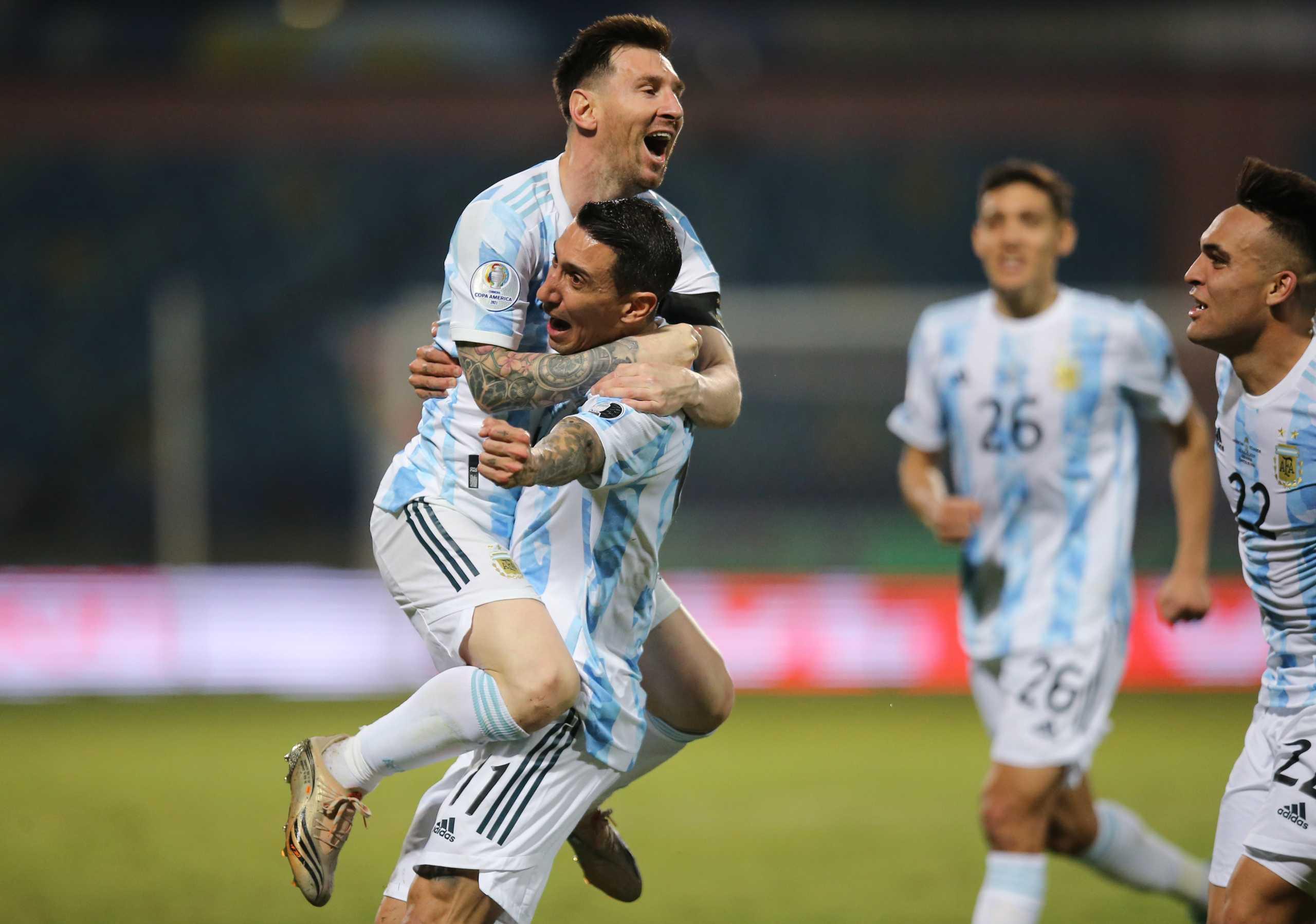 Copa America: Στα ημιτελικά η Αργεντινή με σόου Μέσι