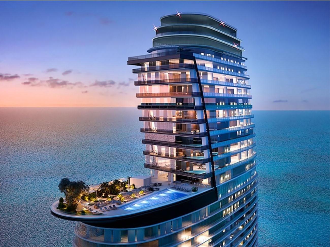 Μέσα στον ουρανοξύστη των 66 ορόφων της Aston Martin στο Μαϊάμι
