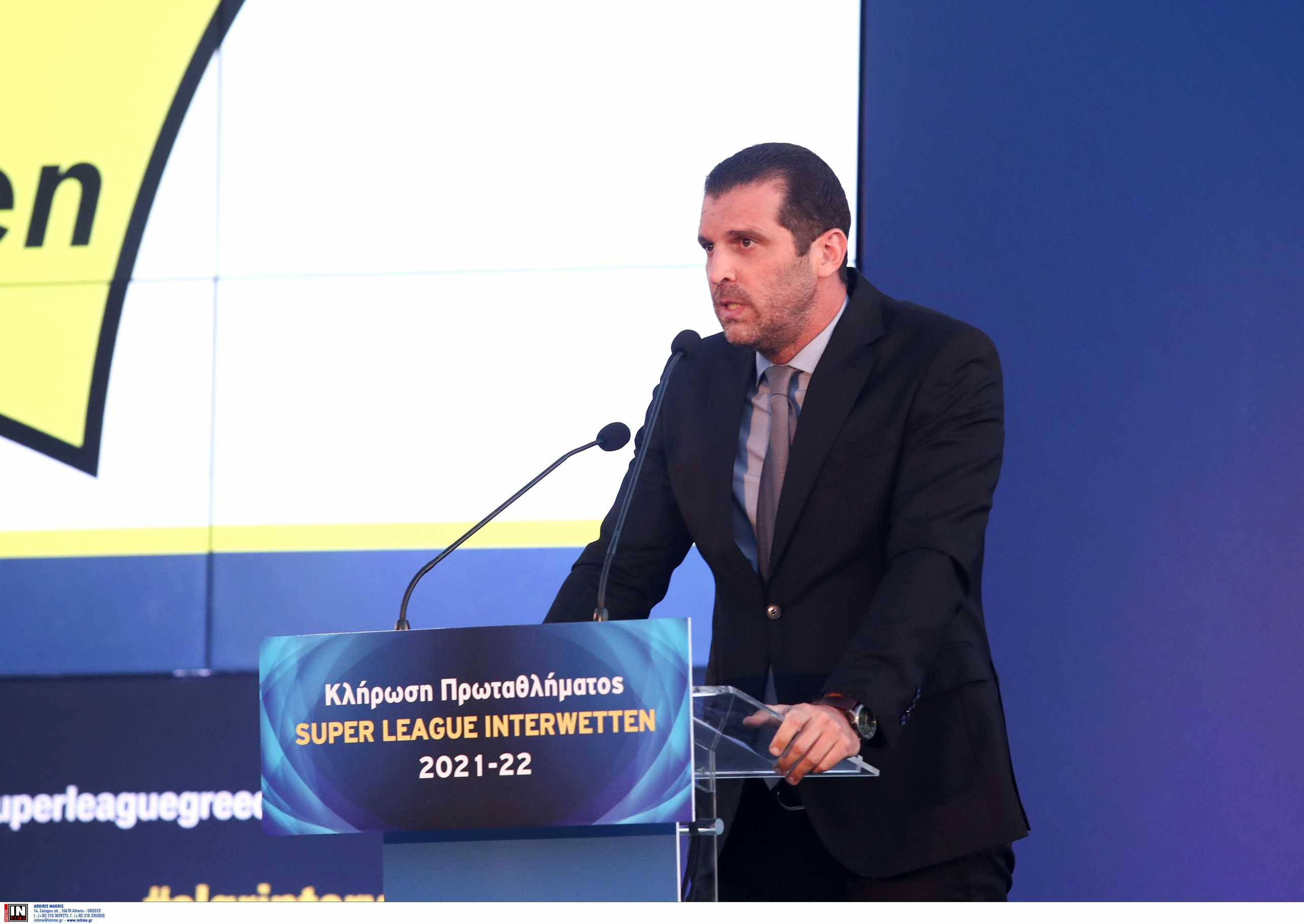 Superleague: «Πιστεύω θα λυθεί το θέμα των τηλεοπτικών» δήλωσε ο Μπουτσικάρης