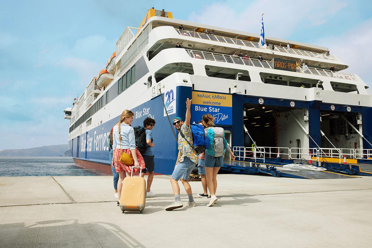 Η απόλυτη εμπειρία διακοπών ξεκινά στα πλοία της Blue Star Ferries!