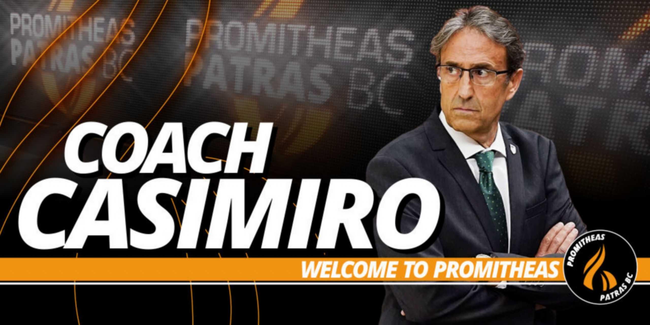 Προμηθέας Πάτρας: Επίσημα νέος προπονητής ο Κασιμίρο