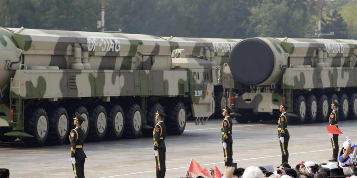 Κίνα: Ετοιμάζεται για «Αρμαγεδδών» με πάνω από 100 νέα σιλό πυρηνικών πυραύλων