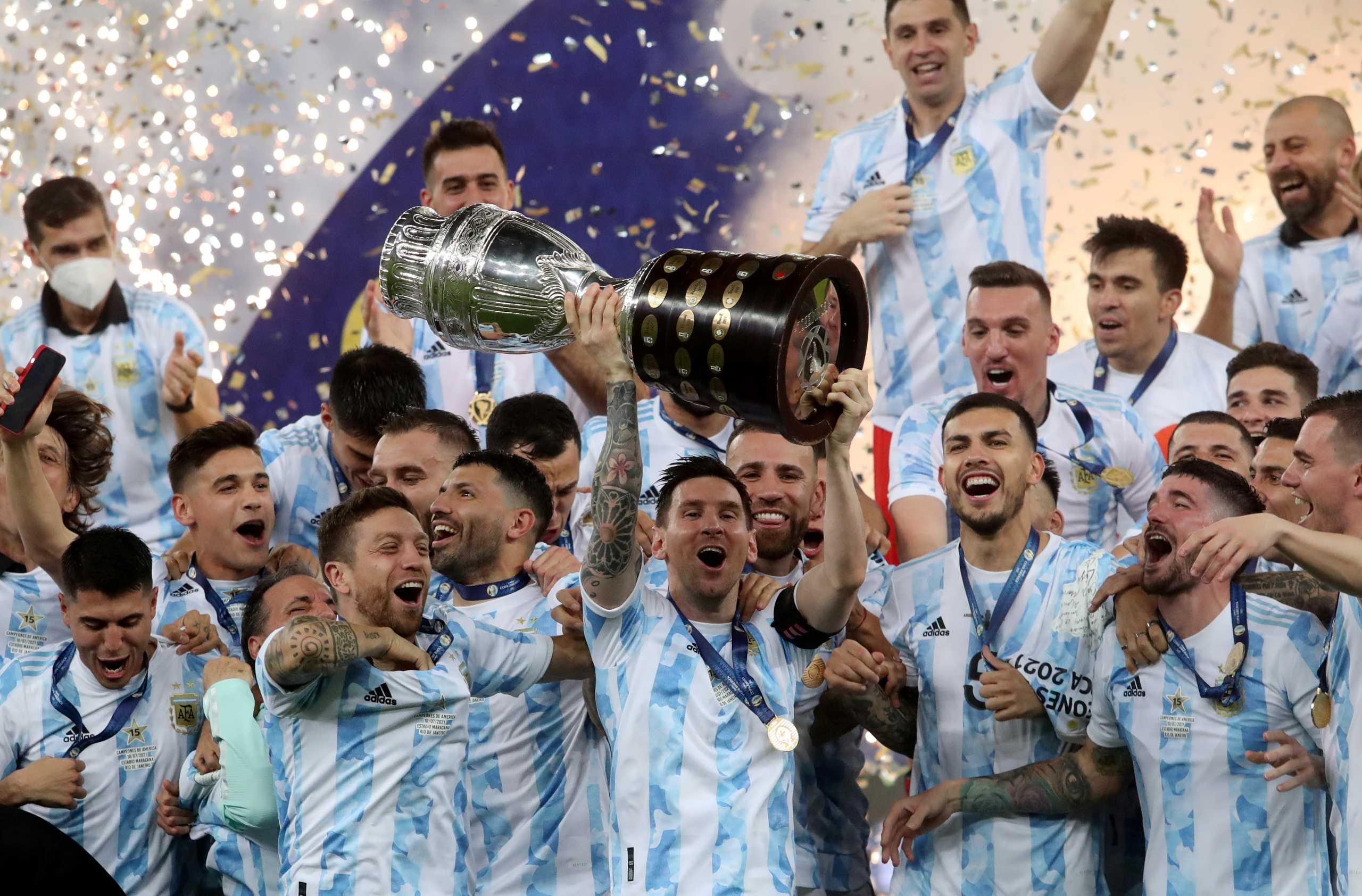 Copa America: Λύτρωση για την Αργεντινή! Νίκησε την Βραζιλία και κατέκτησε το τρόπαιο