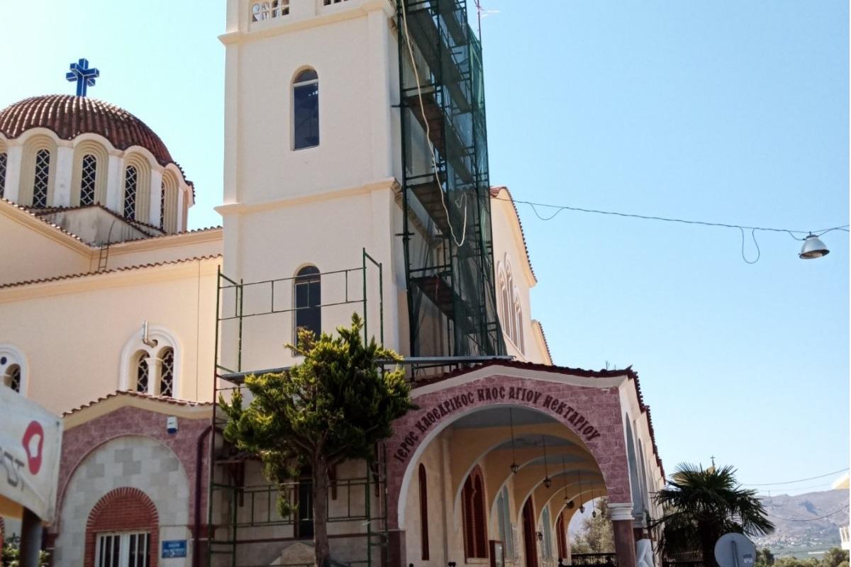 Κρήτη: Εργατικό ατύχημα – 50χρονος έπεσε από σκαλωσιά