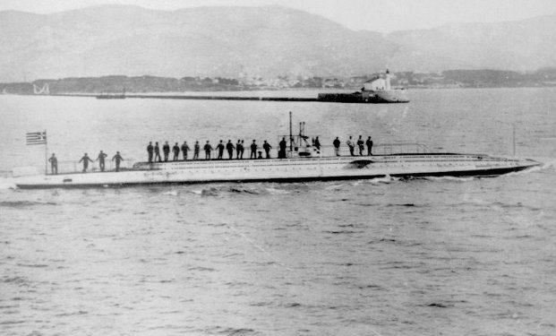 """Υποβρύχιο """"Δελφίν"""": Ο ιστορικός """"κυνηγός"""" του Πολεμικού Ναυτικού και ο εφιάλτης των Τούρκων"""