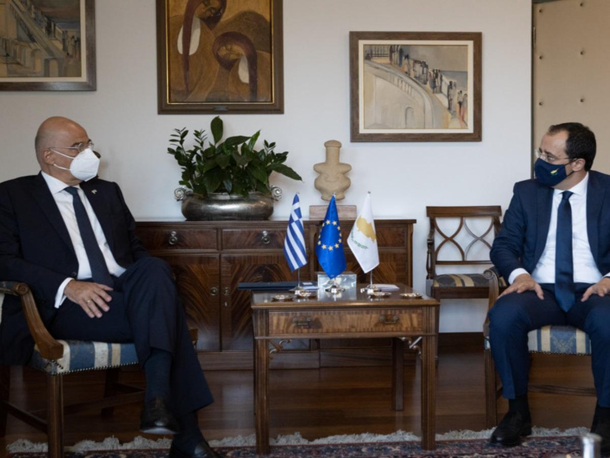 Νίκος Δένδιας σε Νίκο Χριστοδουλίδη: Η παρανομία δεν αποτελεί δίκαιο – Ο Αττίλας κινήθηκε πάλι