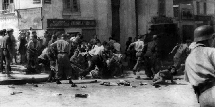 Η αιματηρή διαδήλωση στις 22 Ιουλίου 1943 ενάντια στην επέκταση της βουλγαρικής κατοχής