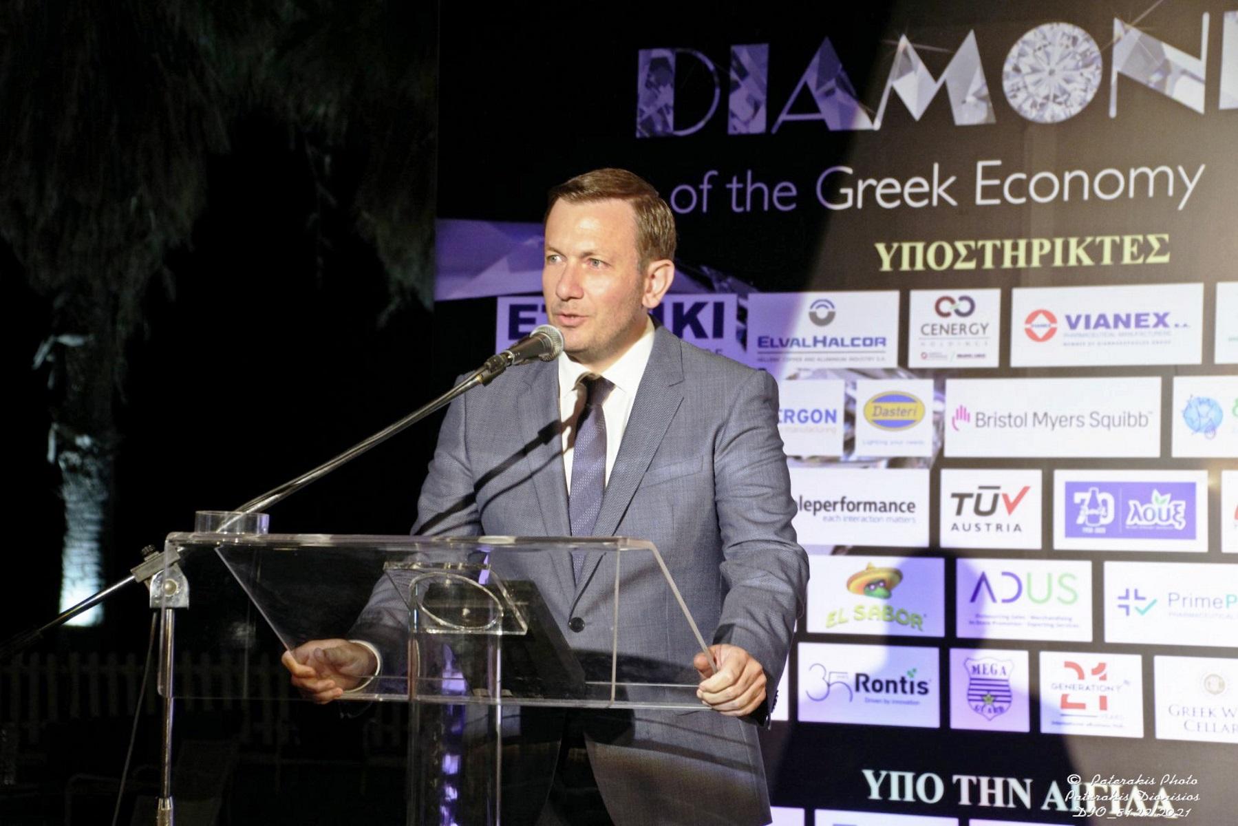 Δίρφυς: Το business plan και η βράβευση ως «Διαμάντι της Ελληνικής Οικονομίας»