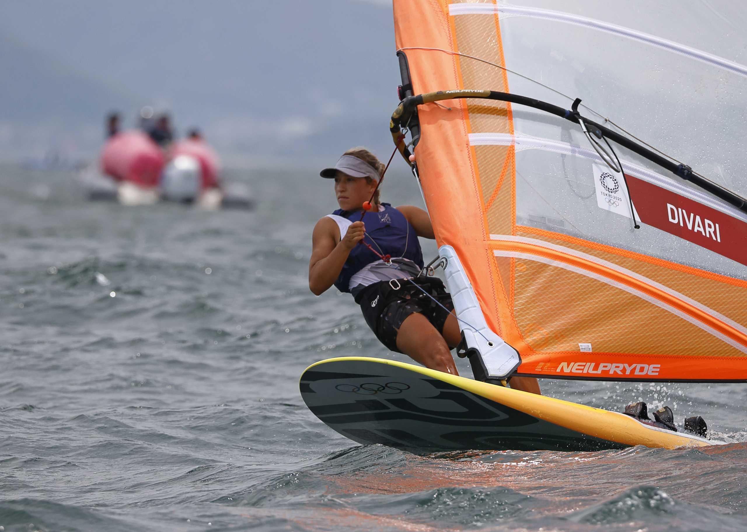 Ολυμπιακοί Αγώνες: Η Κατερίνα Δίβαρη 19η στην τελική κατάταξη στα RS:X