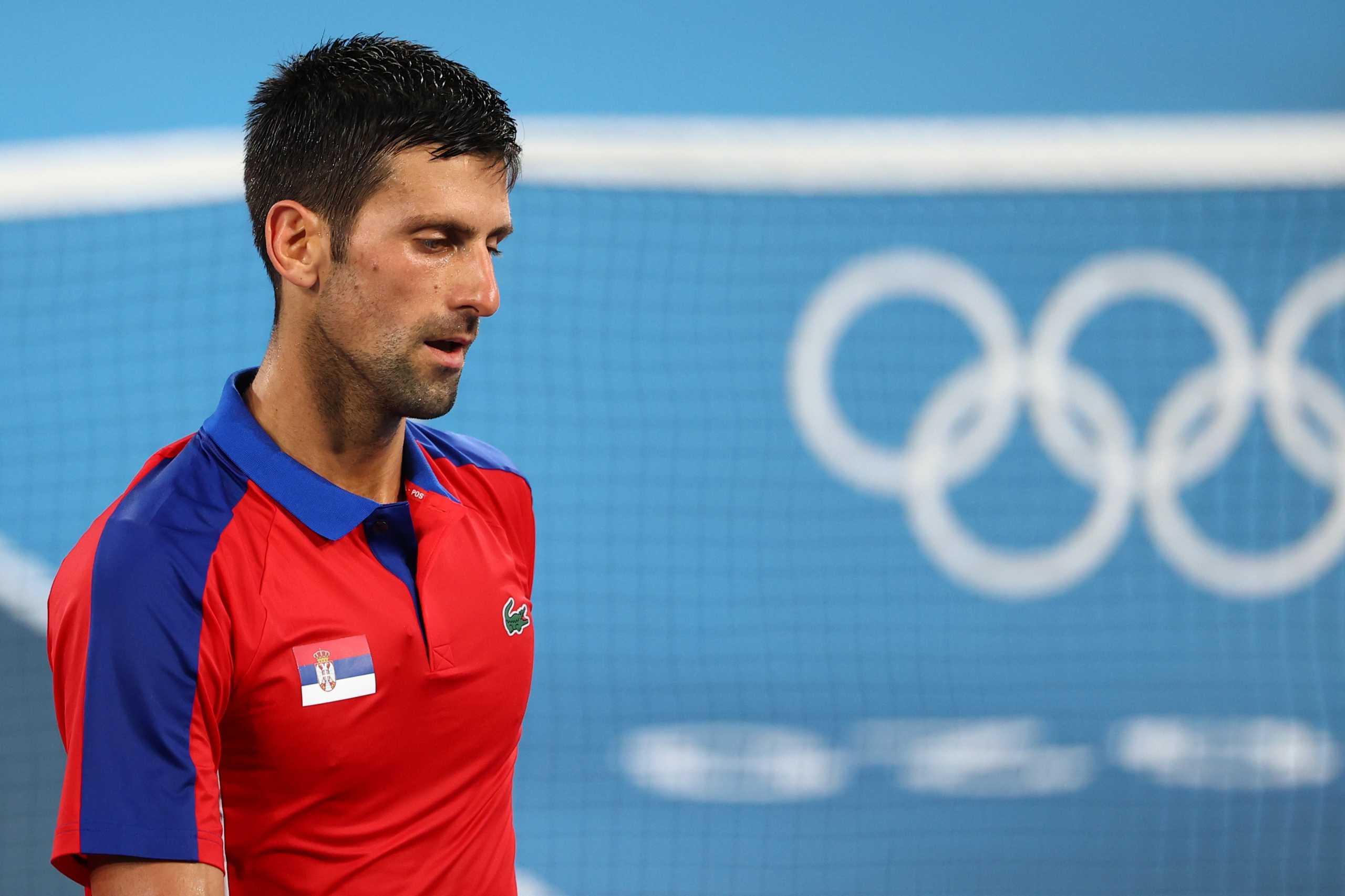 Ολυμπιακοί Αγώνες: Εκτός τελικού ο Τζόκοβιτς, έχασε 2-1 από τον Ζβέρεφ