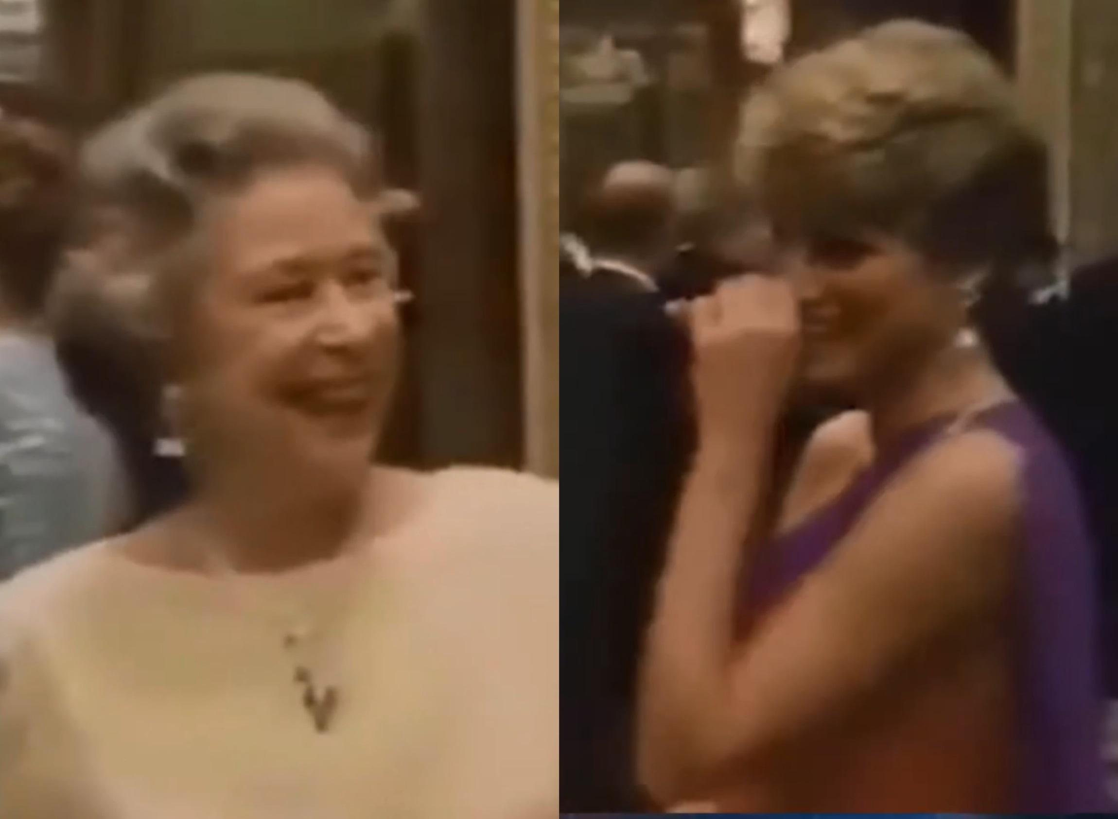 Πριγκίπισσα Νταϊάνα και Βασίλισσα Ελισάβετ