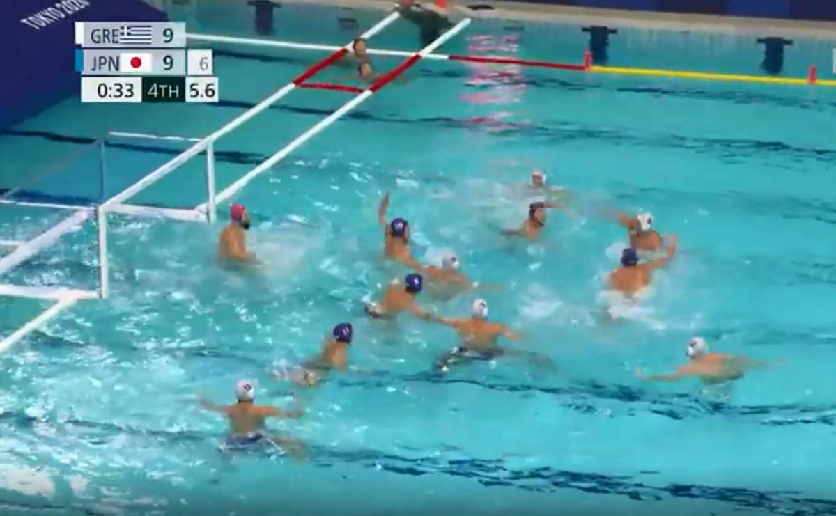 Ολυμπιακοί Αγώνες, Ελλάδα – Ιαπωνία: Το γκολ του Αργυρόπουλου που έστειλε την εθνική πόλο στα προημιτελικά