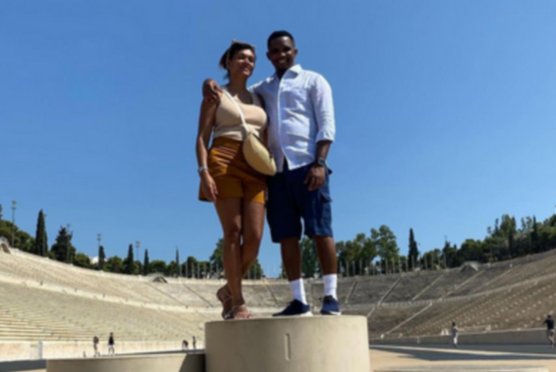Στην Αθήνα ο Ετό, εξύμνησε τη γυναίκα του στο Καλλιμάρμαρο