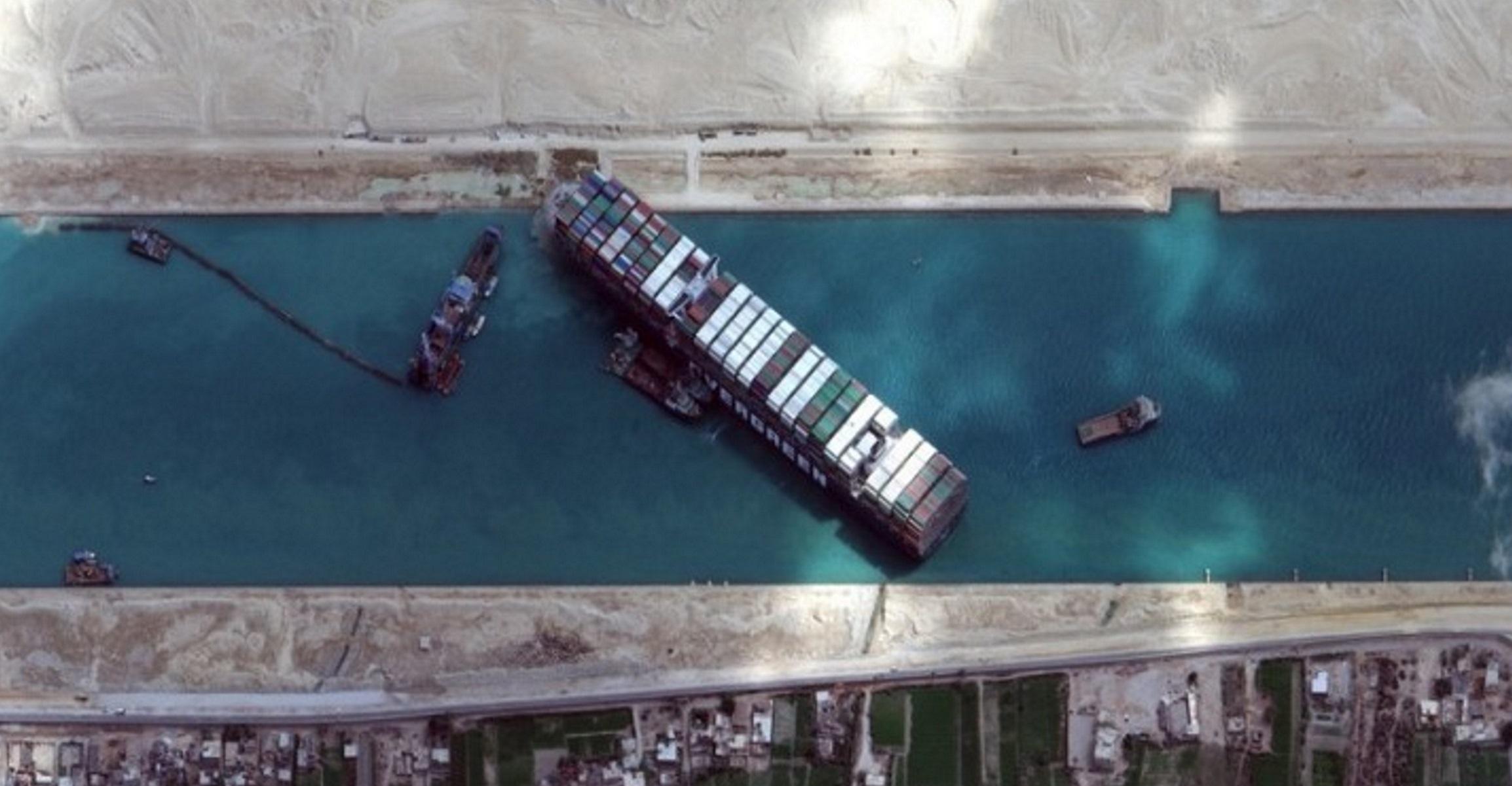 Διώρυγα Σουέζ: Το Ever Given σήκωσε άγκυρα και πηγαίνει προς Μεσόγειο
