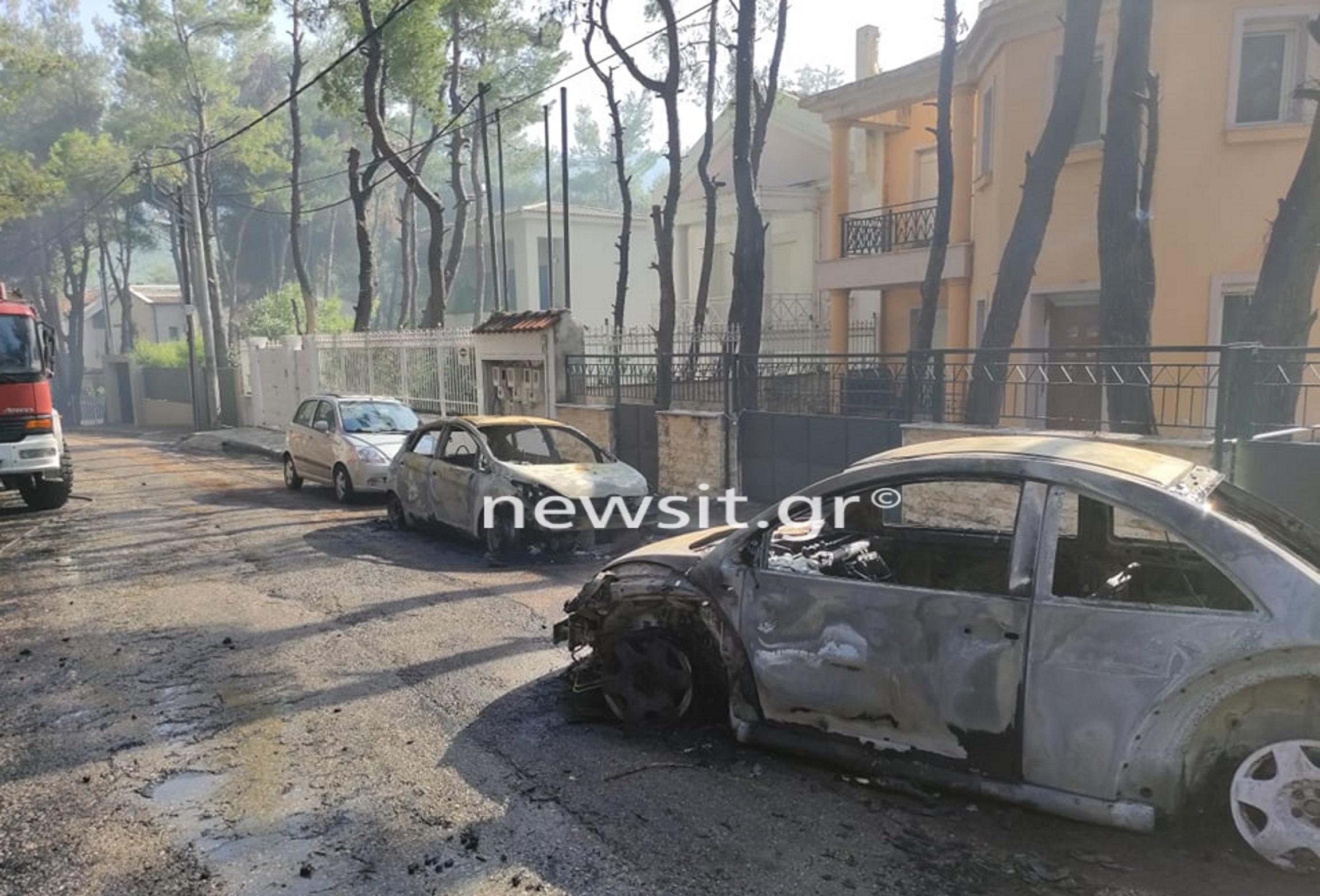 Φωτιά σε Σταμάτα – Διόνυσο: Το newsit.gr στο μέτωπο της πυρκαγιάς