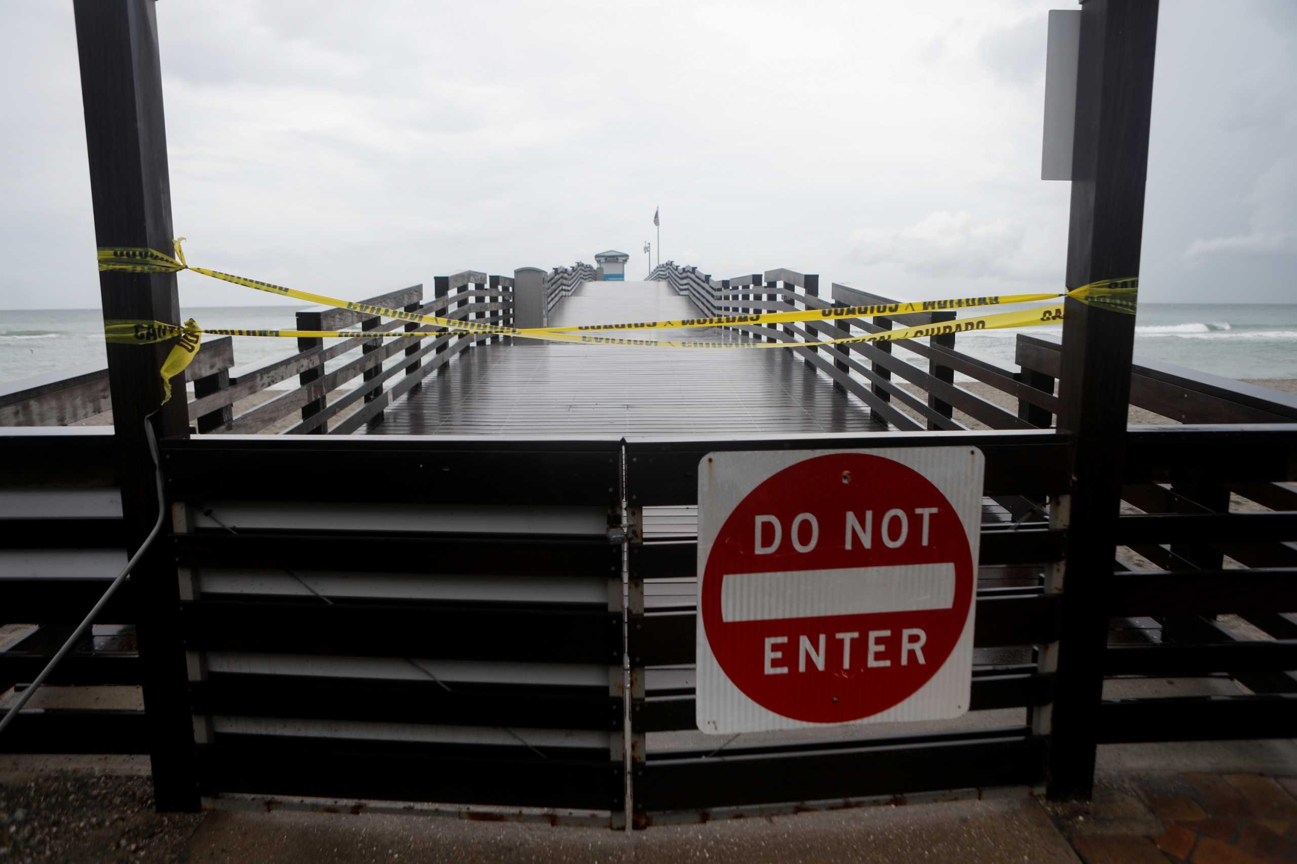 Ξανάγινε κυκλώνας η «Έλσα» και πλησιάζει την Φλόριντα