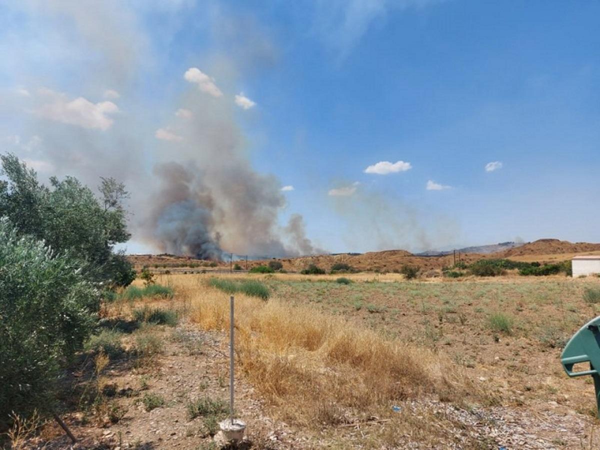Κύπρος: Νέα φωτιά στην επαρχία Λευκωσίας
