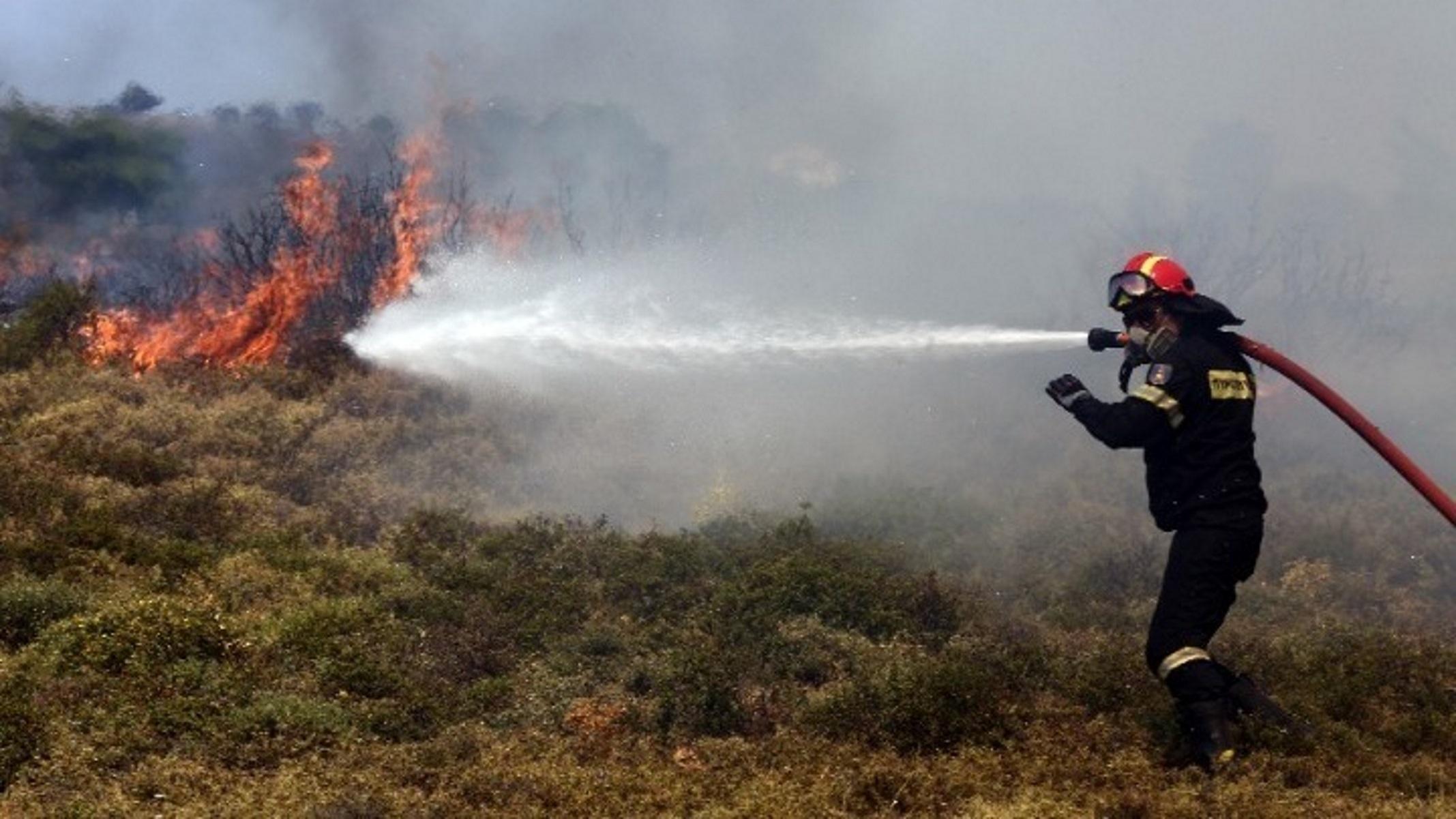 Σε ποιες περιοχές θα είναι πολύ υψηλός ο κίνδυνος πυρκαγιάς αύριο