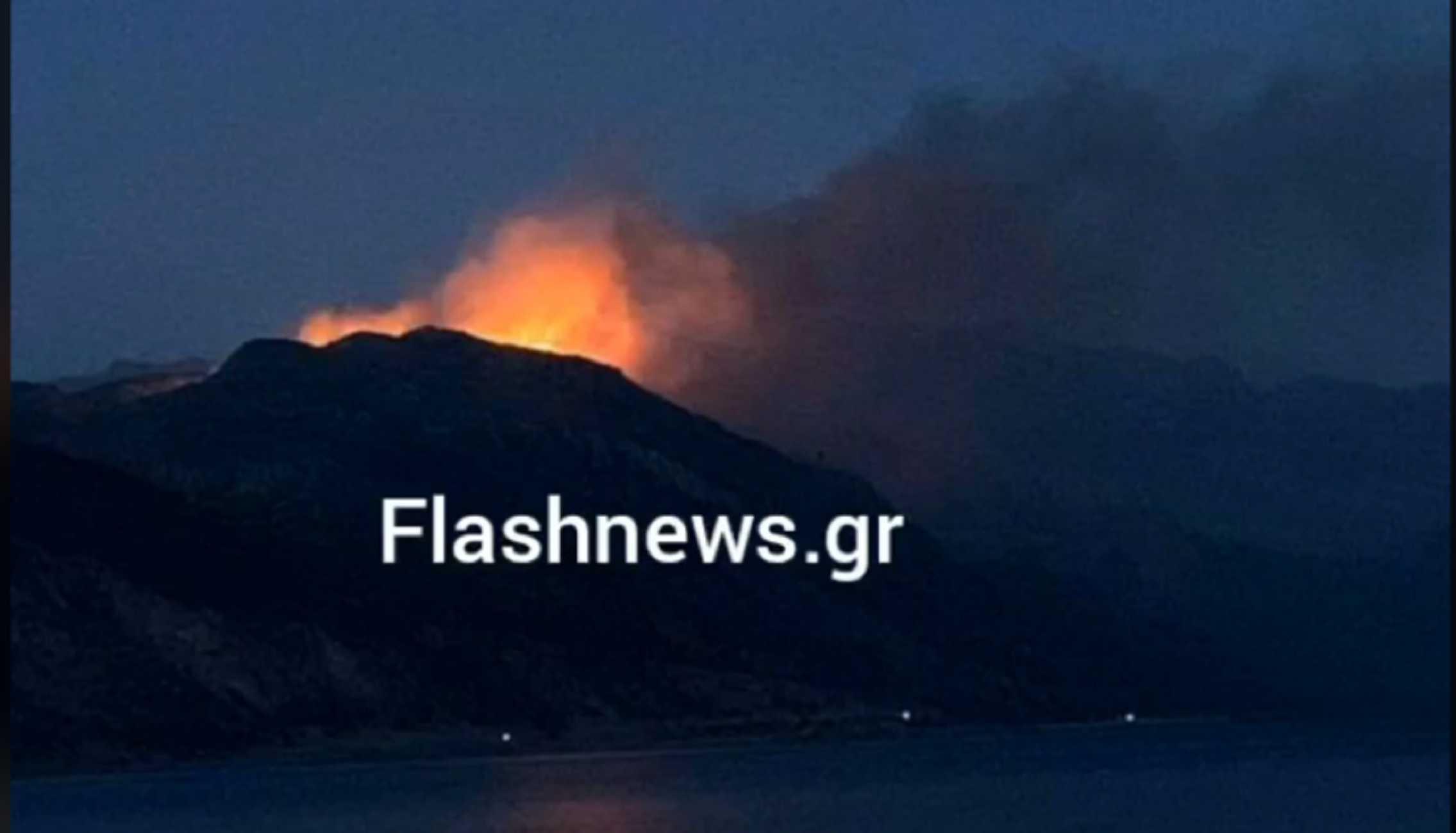 Χανιά: Μάχη με τις φλόγες στο Σελίνο – Σπεύδουν δυνάμεις από Ρέθυμνο και Ηράκλειο