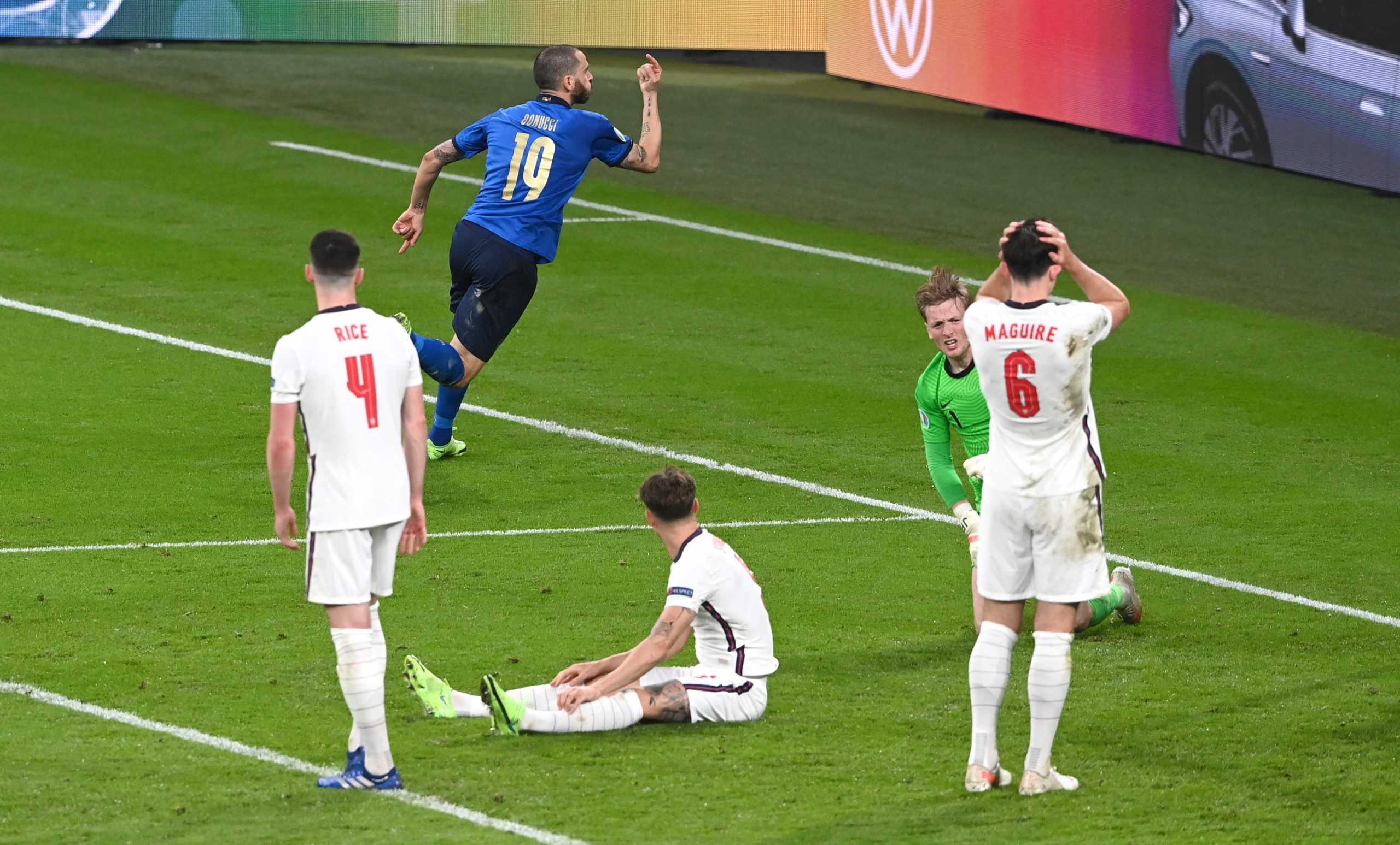 Euro 2020, Ιταλία – Αγγλία: Η ισοφάριση των Ιταλών στον τελικό