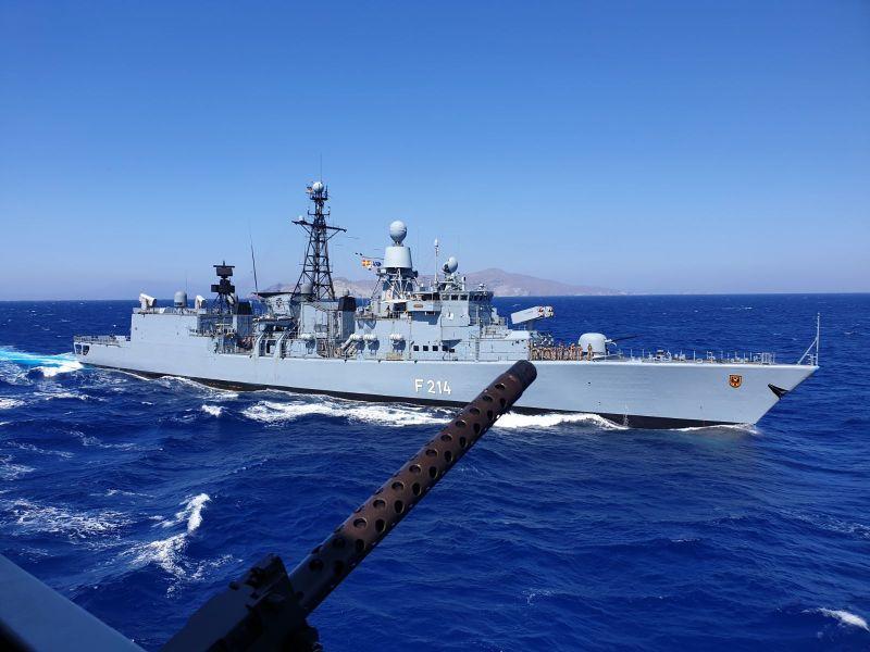 Πολεμικό Ναυτικό: Συνεκπαίδευση PASSEX με γερμανική φρεγάτα «FGS LUBECK»