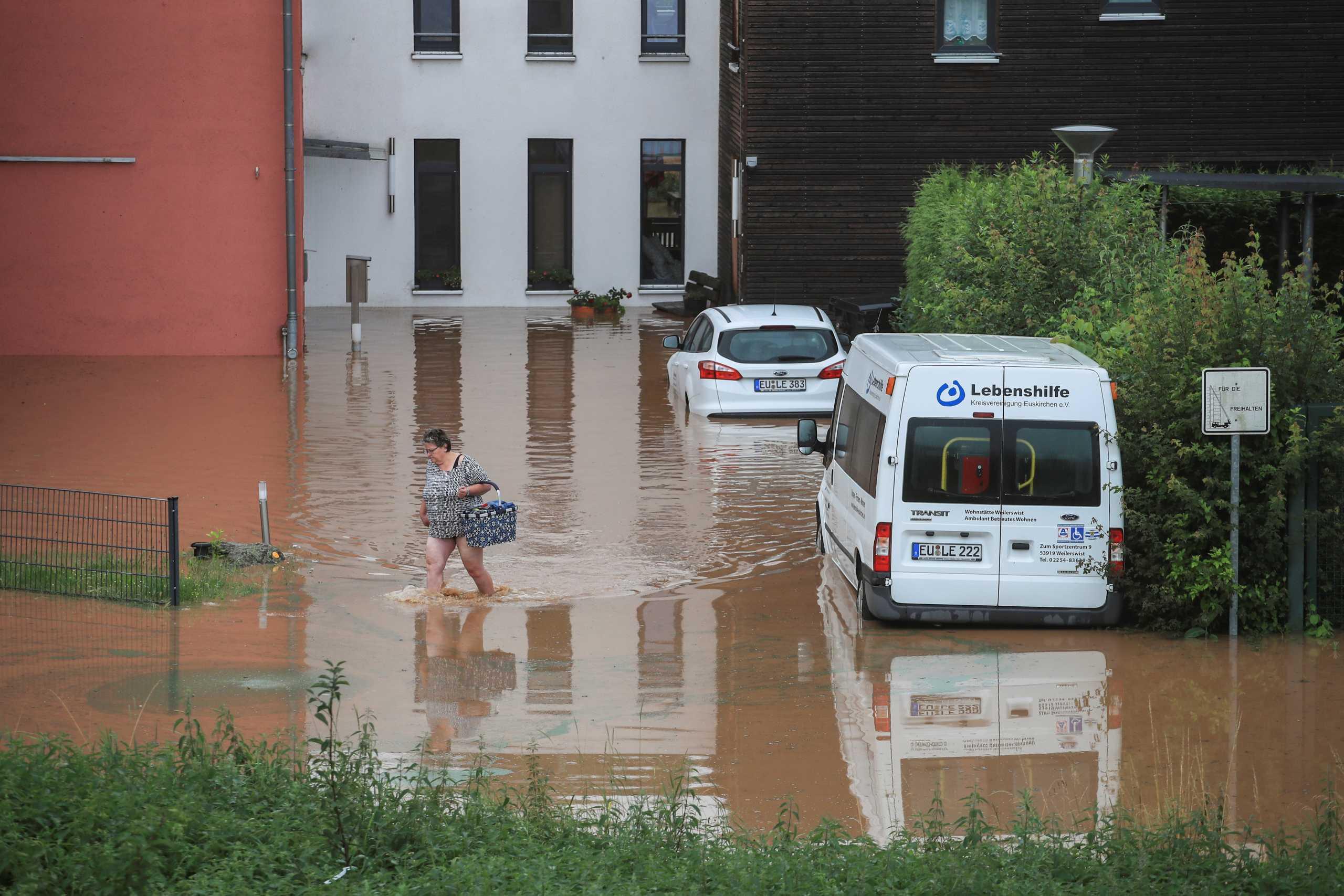 Γερμανία: 4 νεκροί από τις φονικές πλημμύρες σε Ρηνανία – Παλατινάτο
