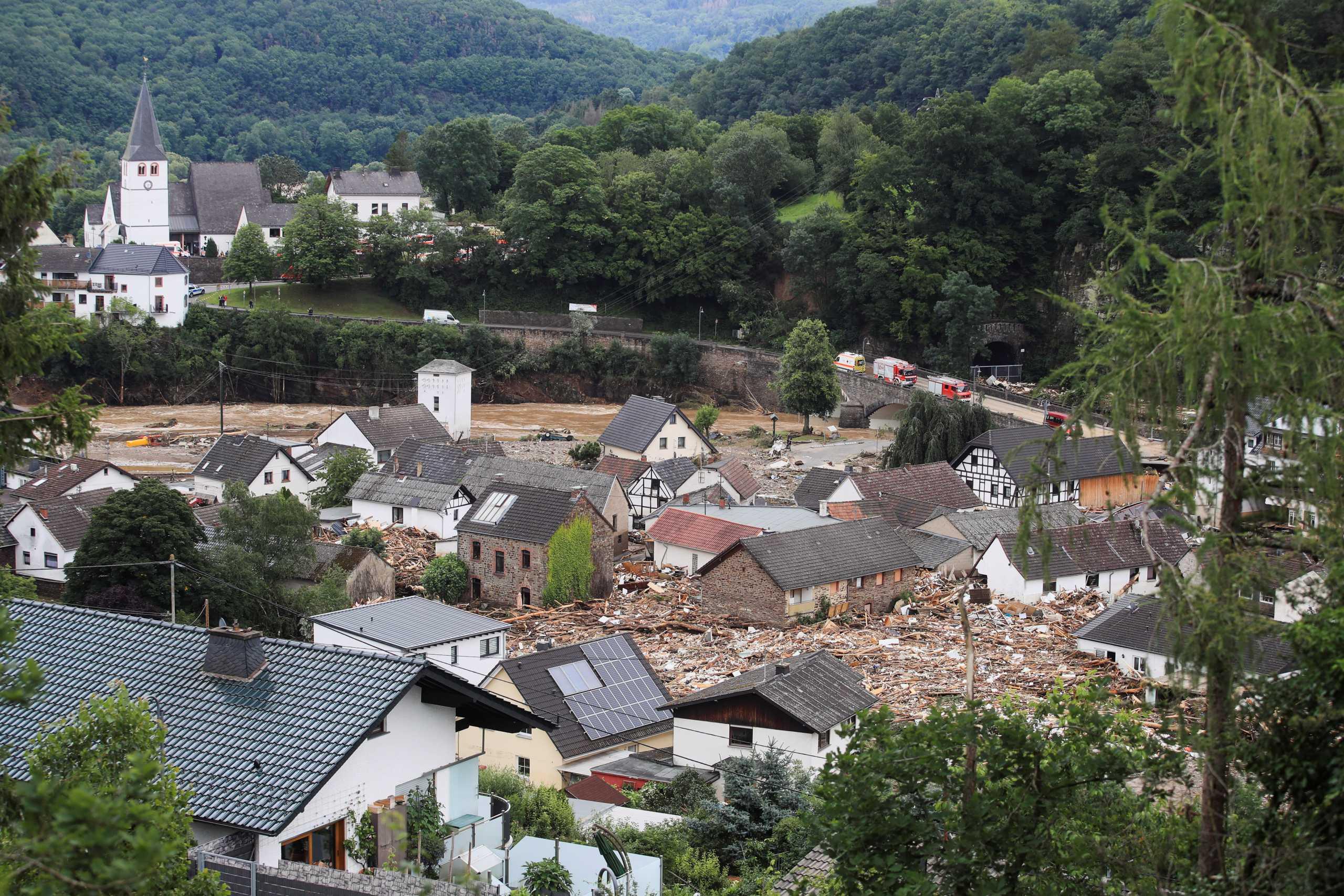 Γερμανία: Αυξάνεται ραγδαία ο αριθμός των νεκρών από τις πλημμύρες