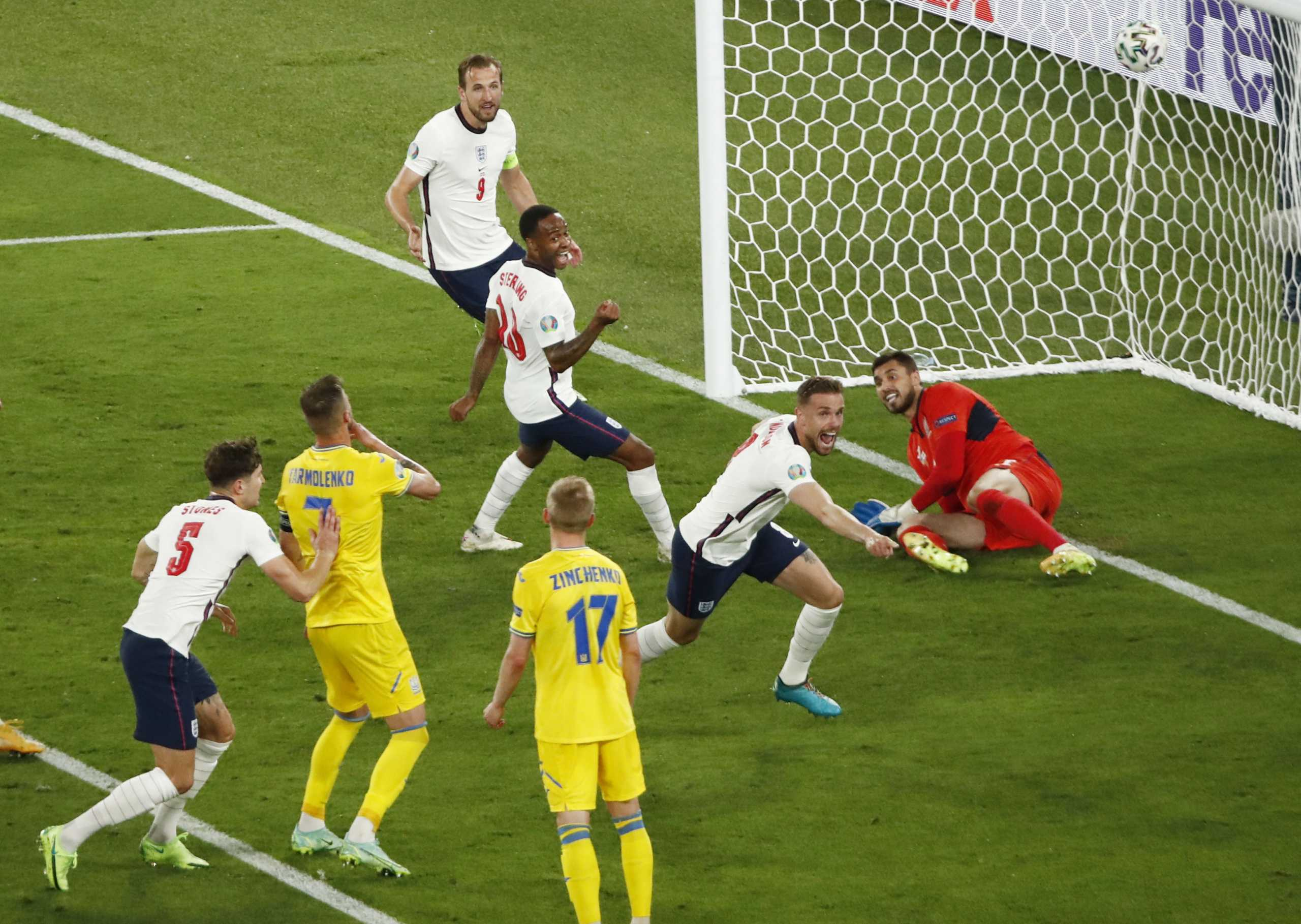 Euro 2020, Ουκρανία – Αγγλία 0-4 ΤΕΛΙΚΟ