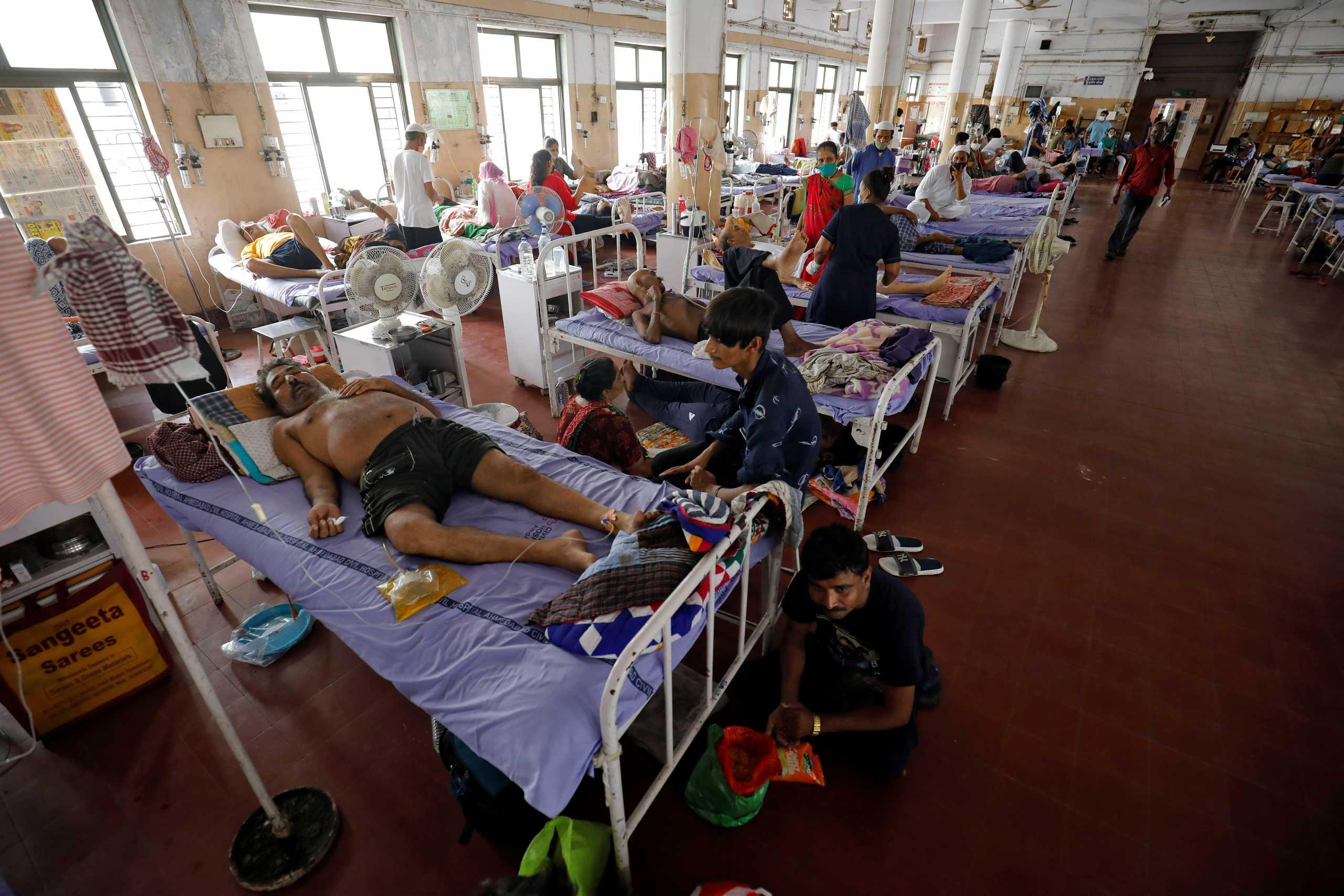 Κορονοϊός – Ινδία: 540 θάνατοι και 37.000 νέα κρούσματα στη «γενέτειρα» της μετάλλαξης Δέλτα