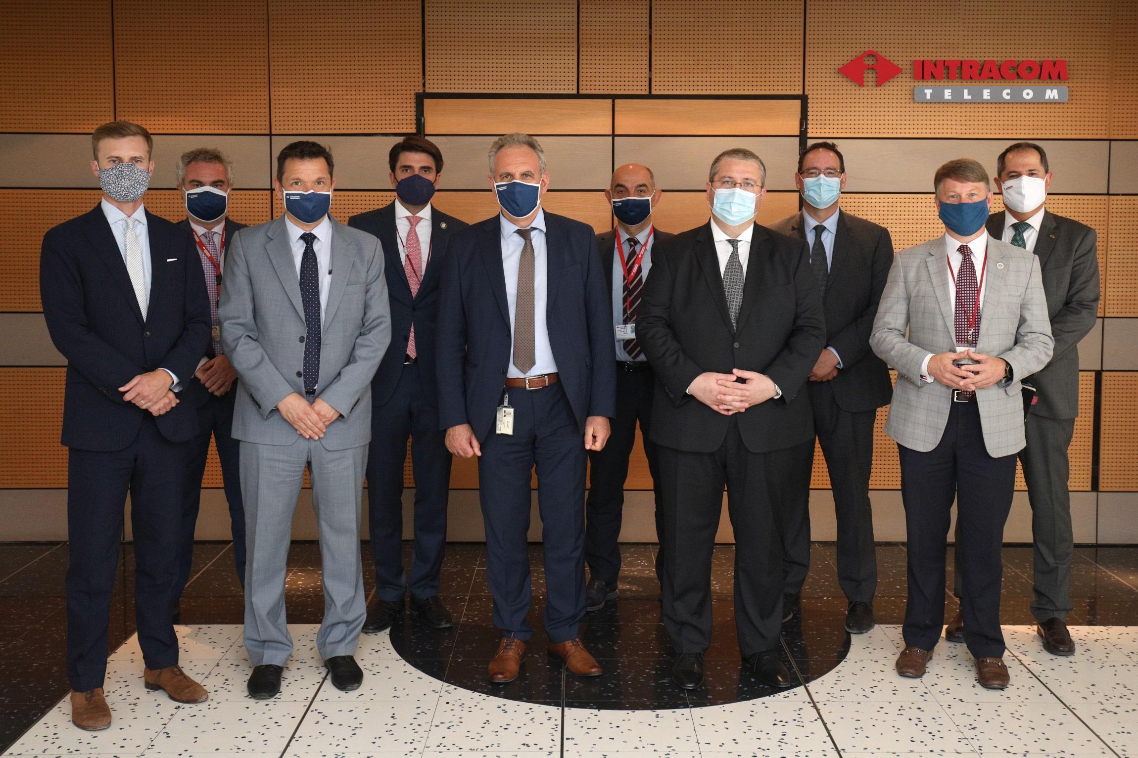 Την Intracom Telecom επισκέφθηκε ο Επίτροπος Οικονομικής Ανάπτυξης της Georgia των ΗΠΑ
