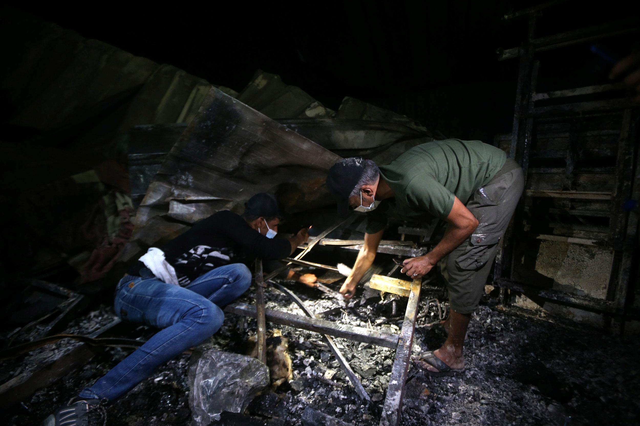 Ιράκ: 52 οι νεκροί από τη φωτιά σε μονάδα Covid σε νοσοκομείο