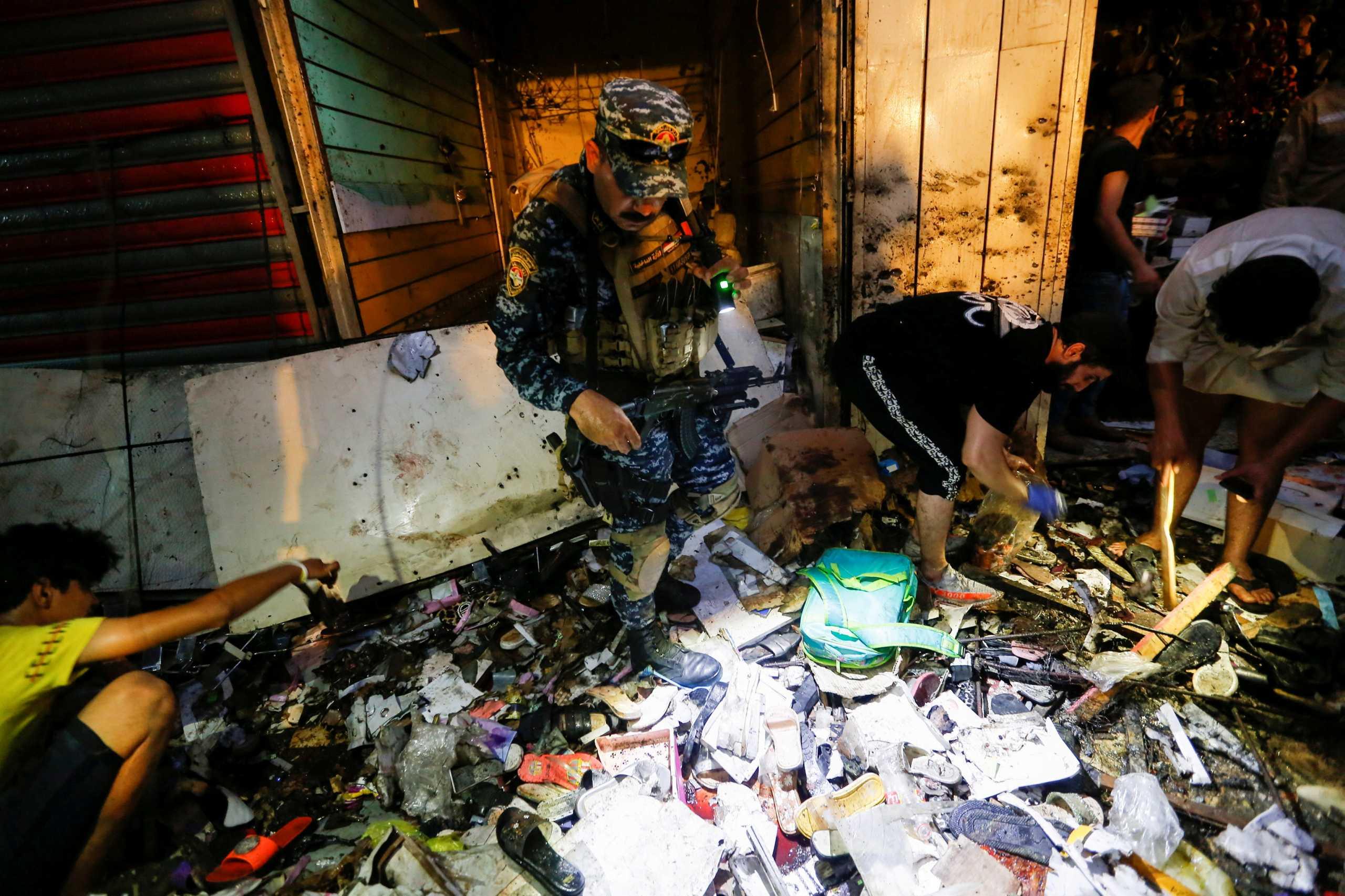 Ιράκ: Πάνω από 30 νεκροί σε επίθεση αυτοκτονίας στη Βαγδάτη