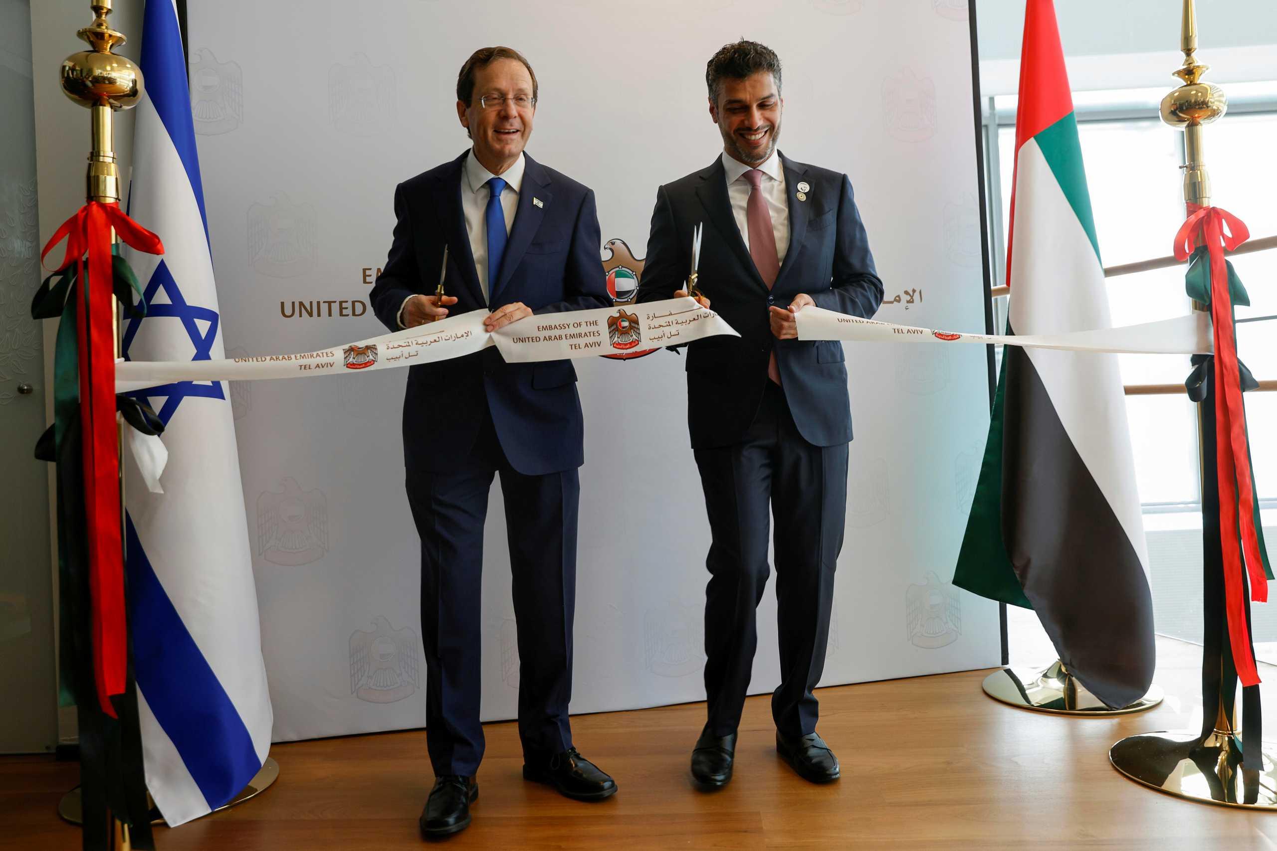 Ισραήλ: Τα Ηνωμένα Αραβικά Εμιράτα άνοιξαν πρεσβεία στο Τελ Αβίβ