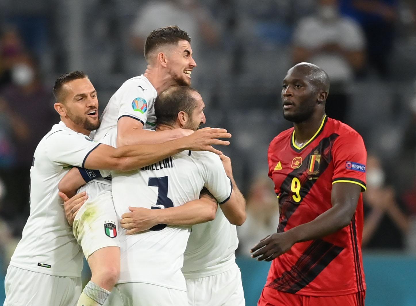 Euro 2020, Βέλγιο – Ιταλία 1-2: Ατζούρι για κούπα