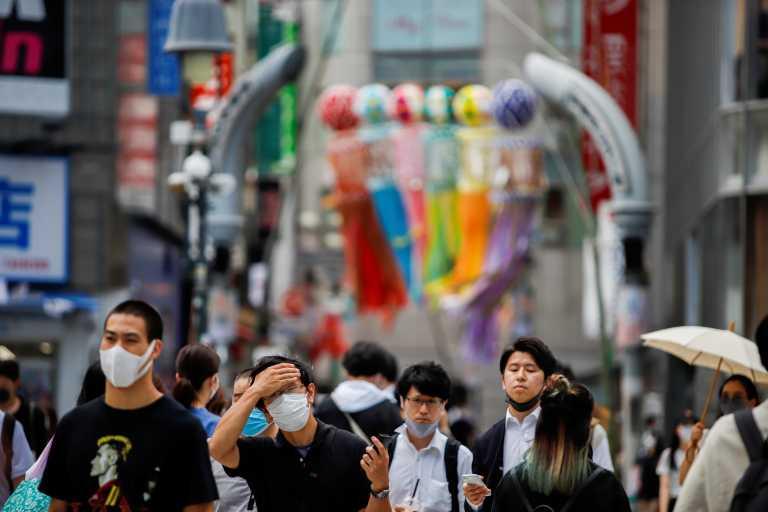 Ιαπωνία - κορονοϊός: Νέο ρεκόρ κρουσμάτων στο Τόκιο