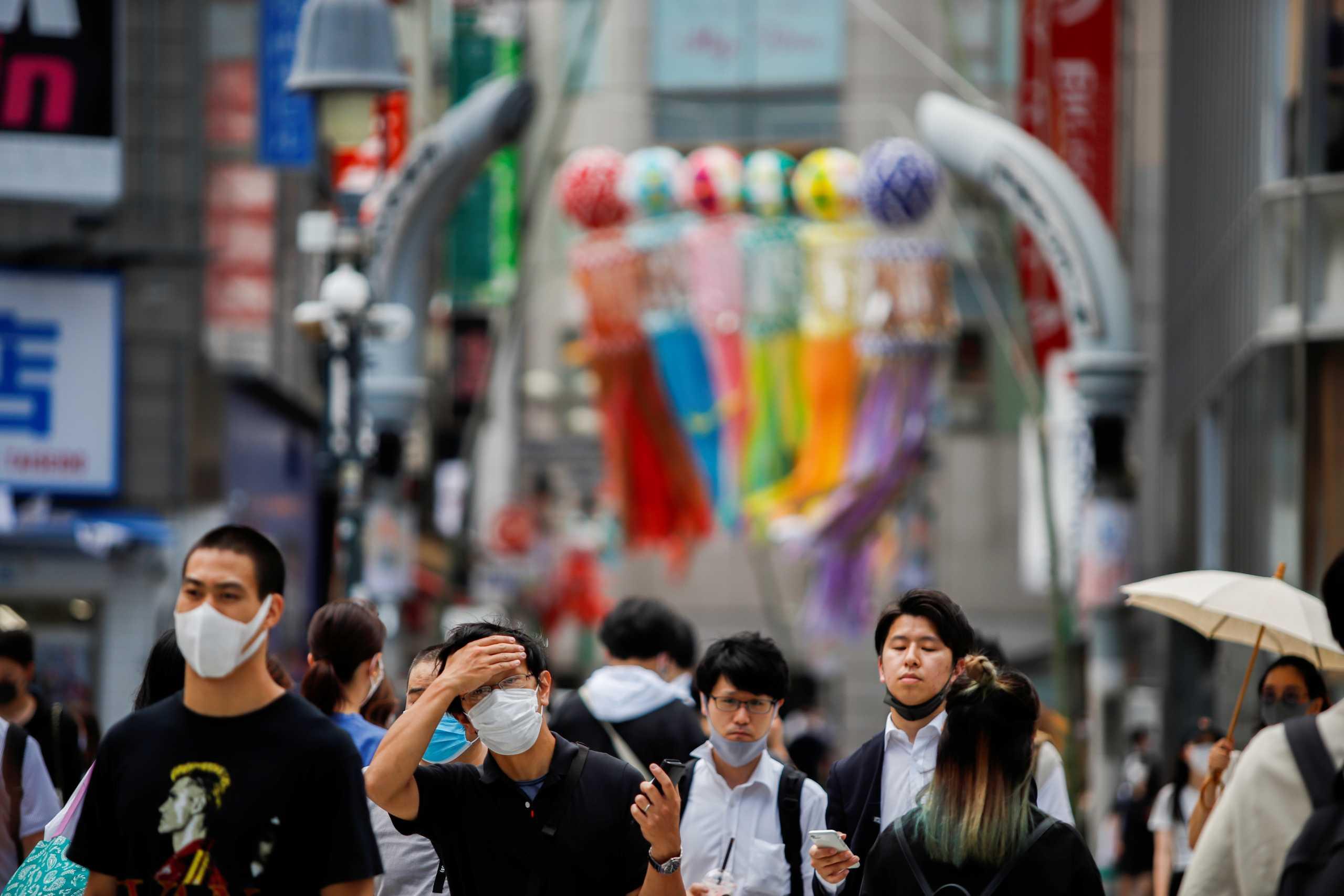 Ιαπωνία – κορονοϊός: Νέο ρεκόρ κρουσμάτων στο Τόκιο